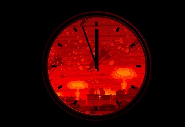 Часовникът на апокалипсиса се придвижи с още 30 секунди напред