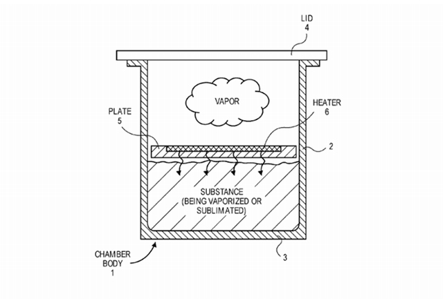 Apple патентова технология за изпарител на вещества в безвъздушна камера