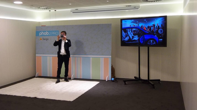 MWC 2017: Lenovo Phab2Pro, или как BMW i8 се появи в центъра на стаята