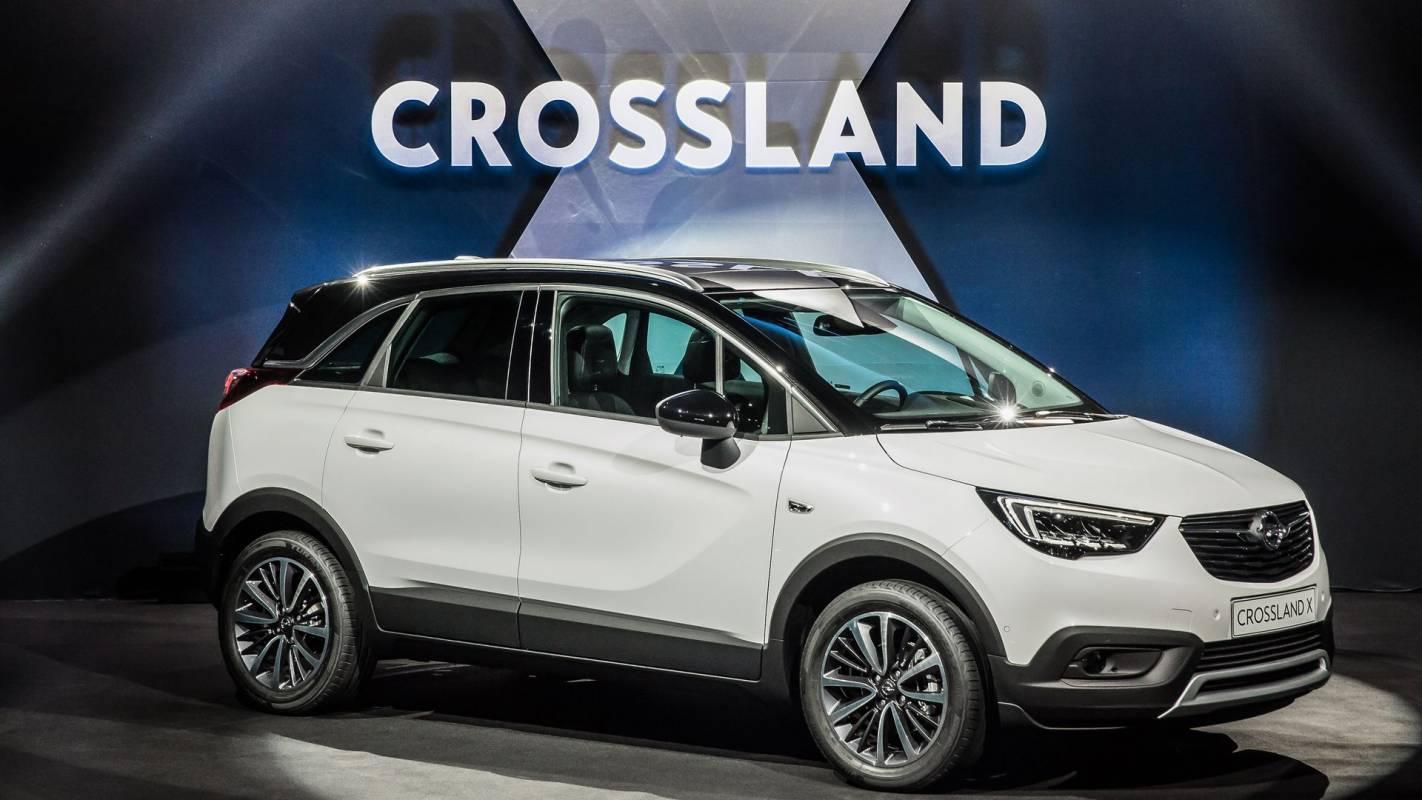 Новият Opel Crossland X ще изкушава с много градски добродетели