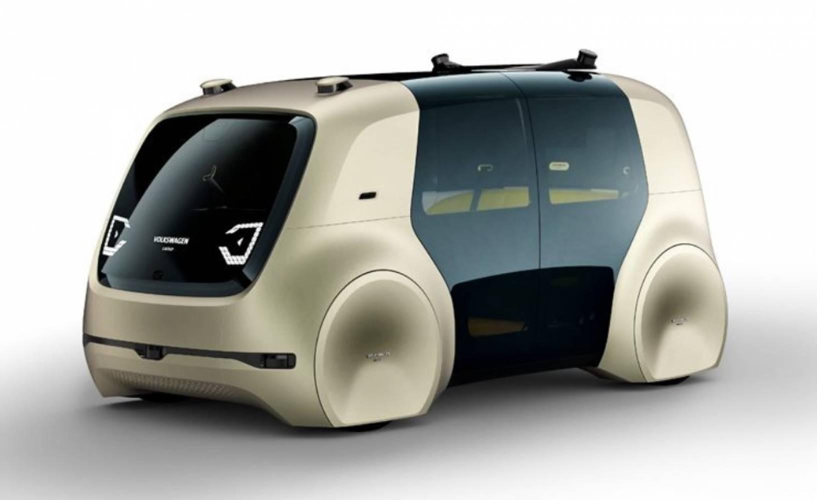 Sedric е симпатичният начин на Volkswagen да ви приветства в бъдещето