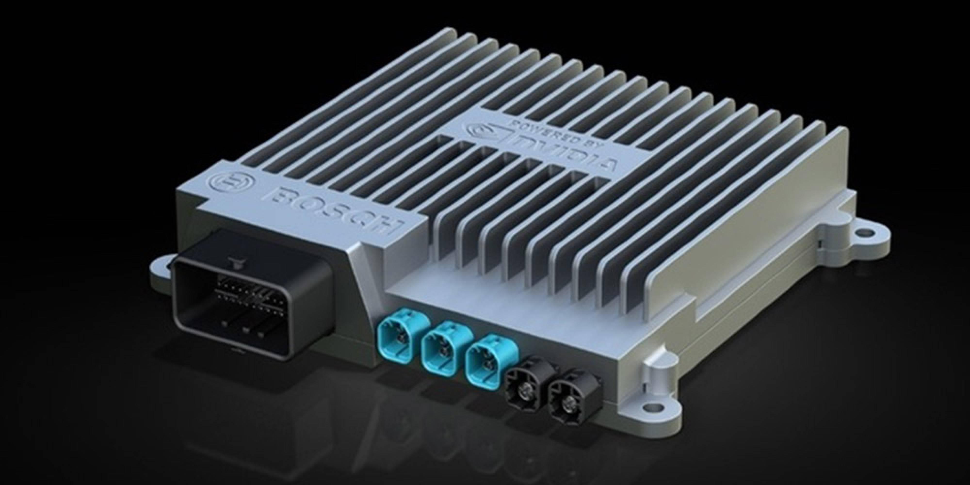 Bosch и Nvidia разработват суперкомпютър за самостоятелно управляващи се коли