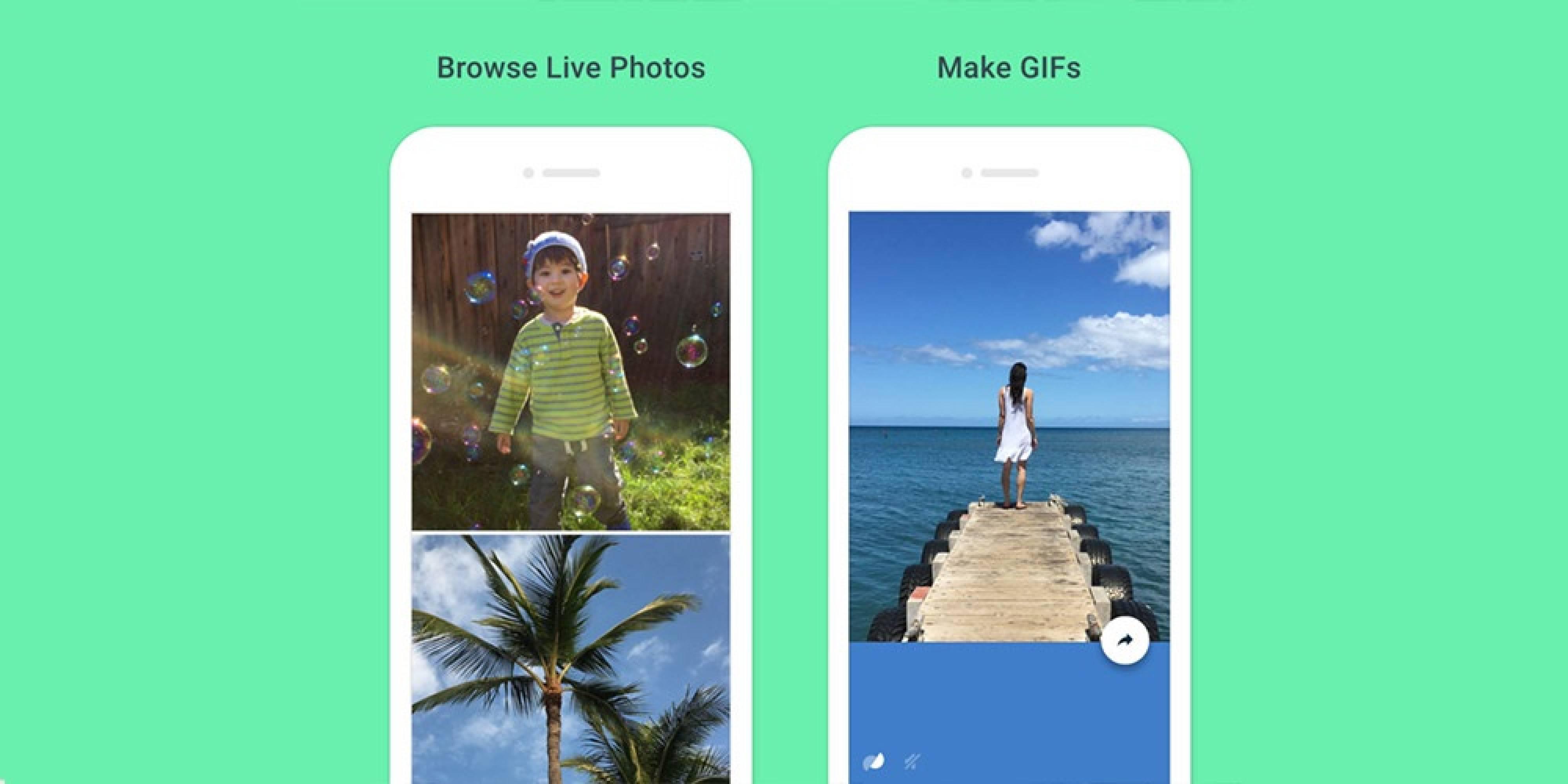 Motion Stills на Google ви дава възможност да редактирате Live Photos клипове на Apple