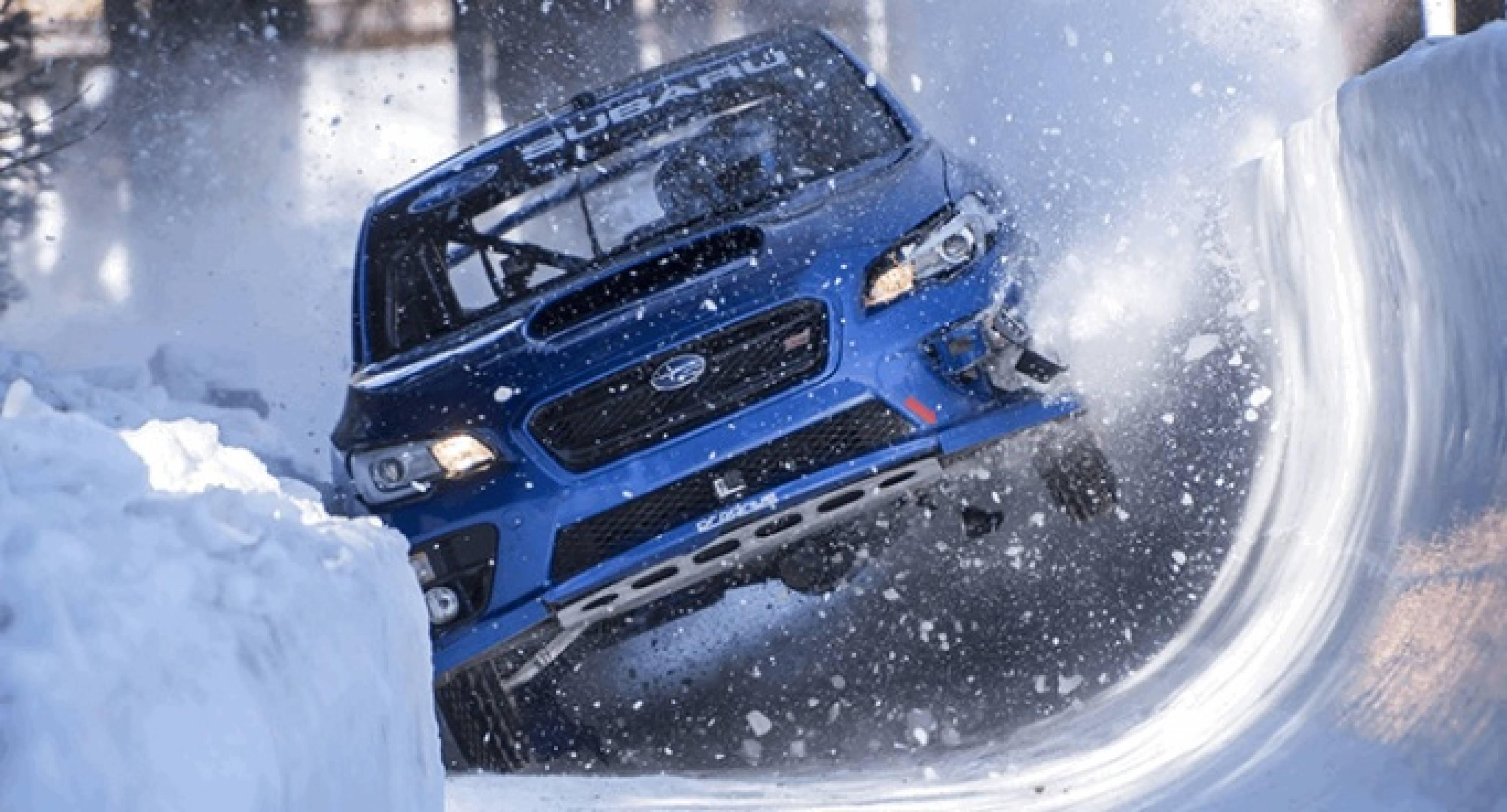 Ето какво става, когато едно Subaru WRX STI тръгва по бобслей трасе