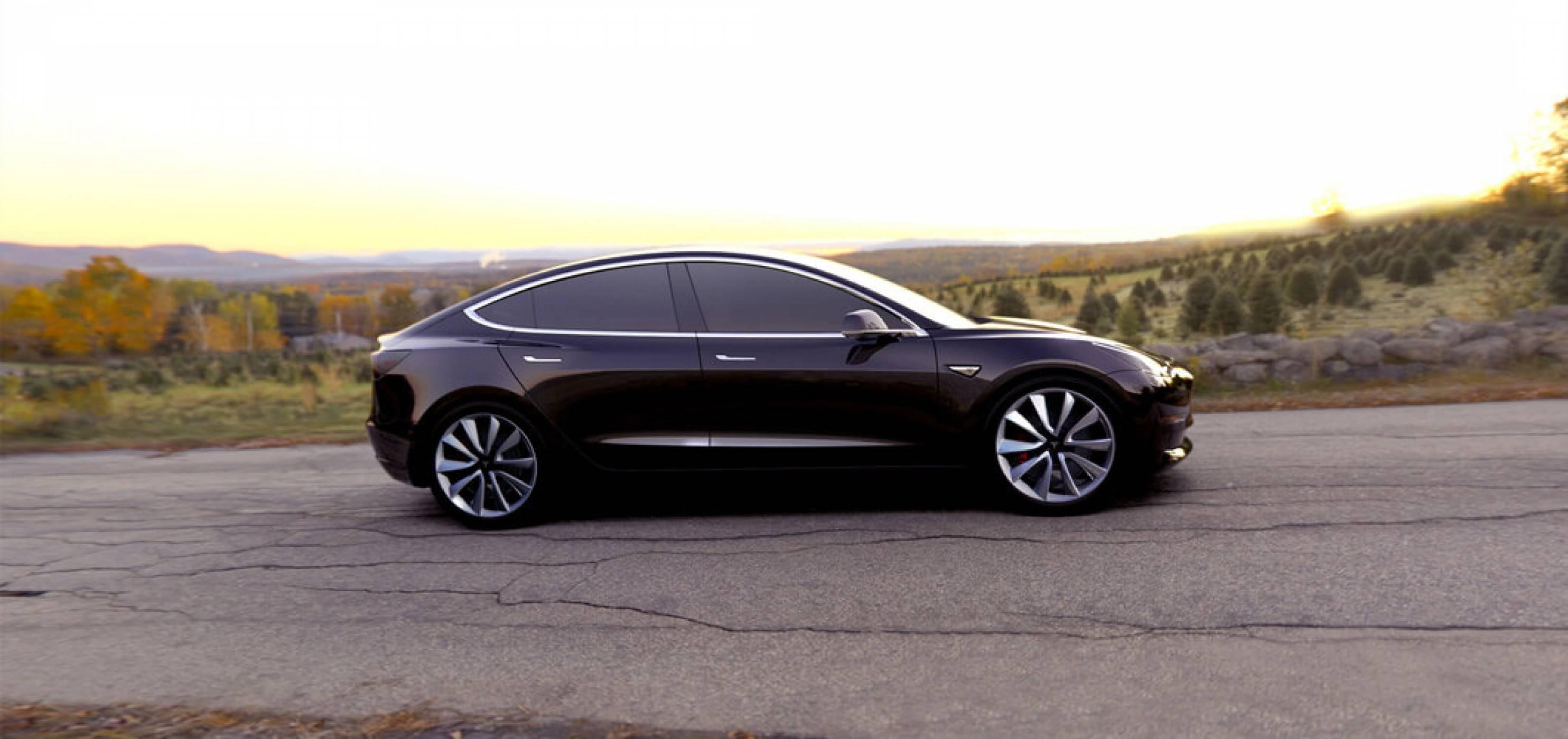 Илон Мъск сподели видео с почти завършената версия на новия Model 3