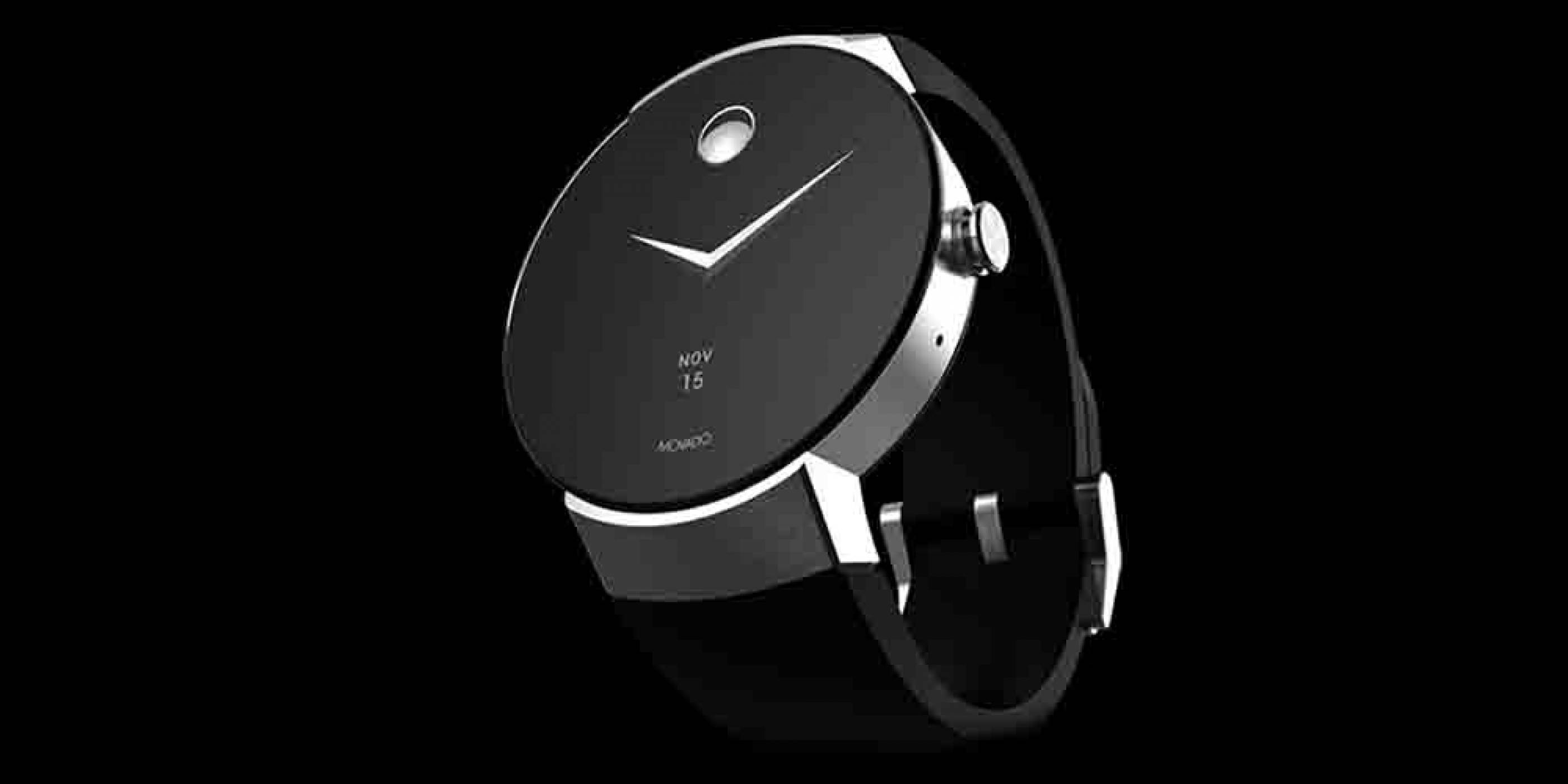 Movado Connect е нов умен часовник, работещ с Android Wear 2.0
