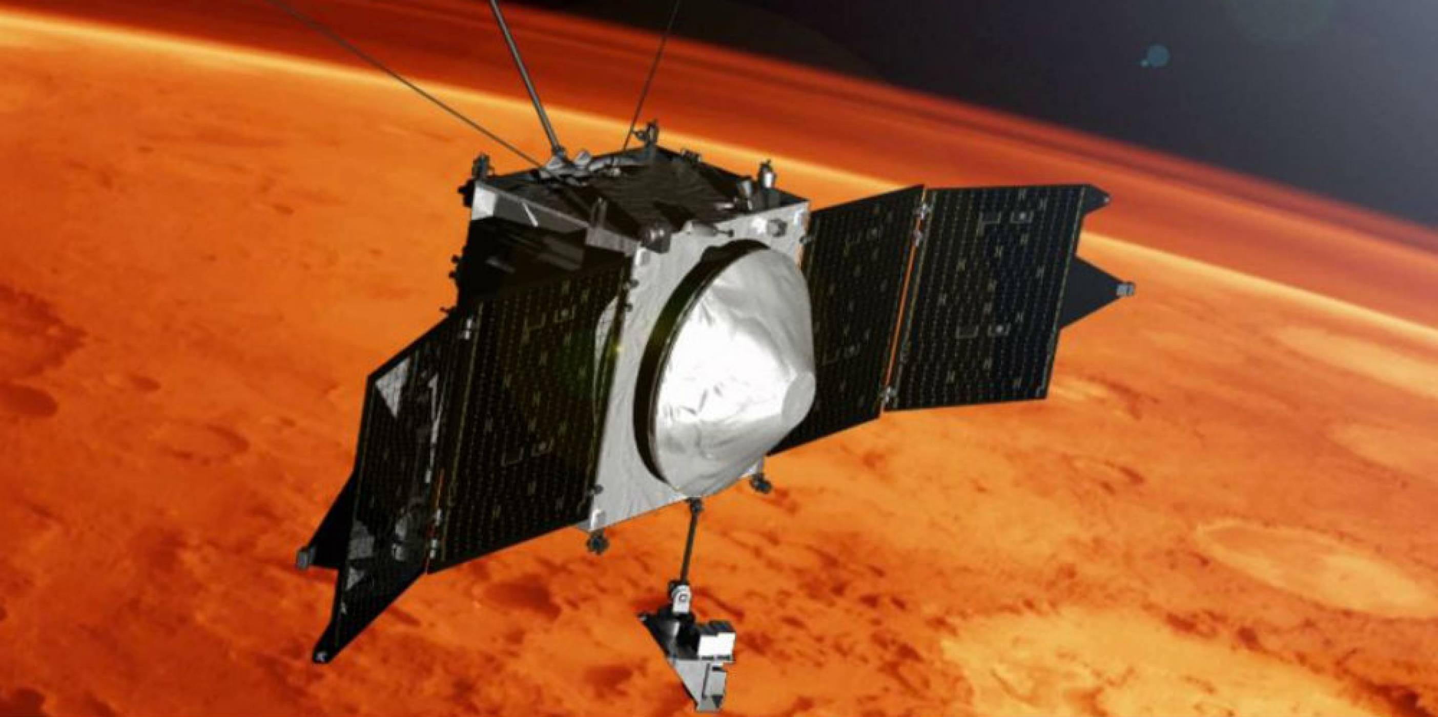 Откриха метални йони в атмосферата на Марс