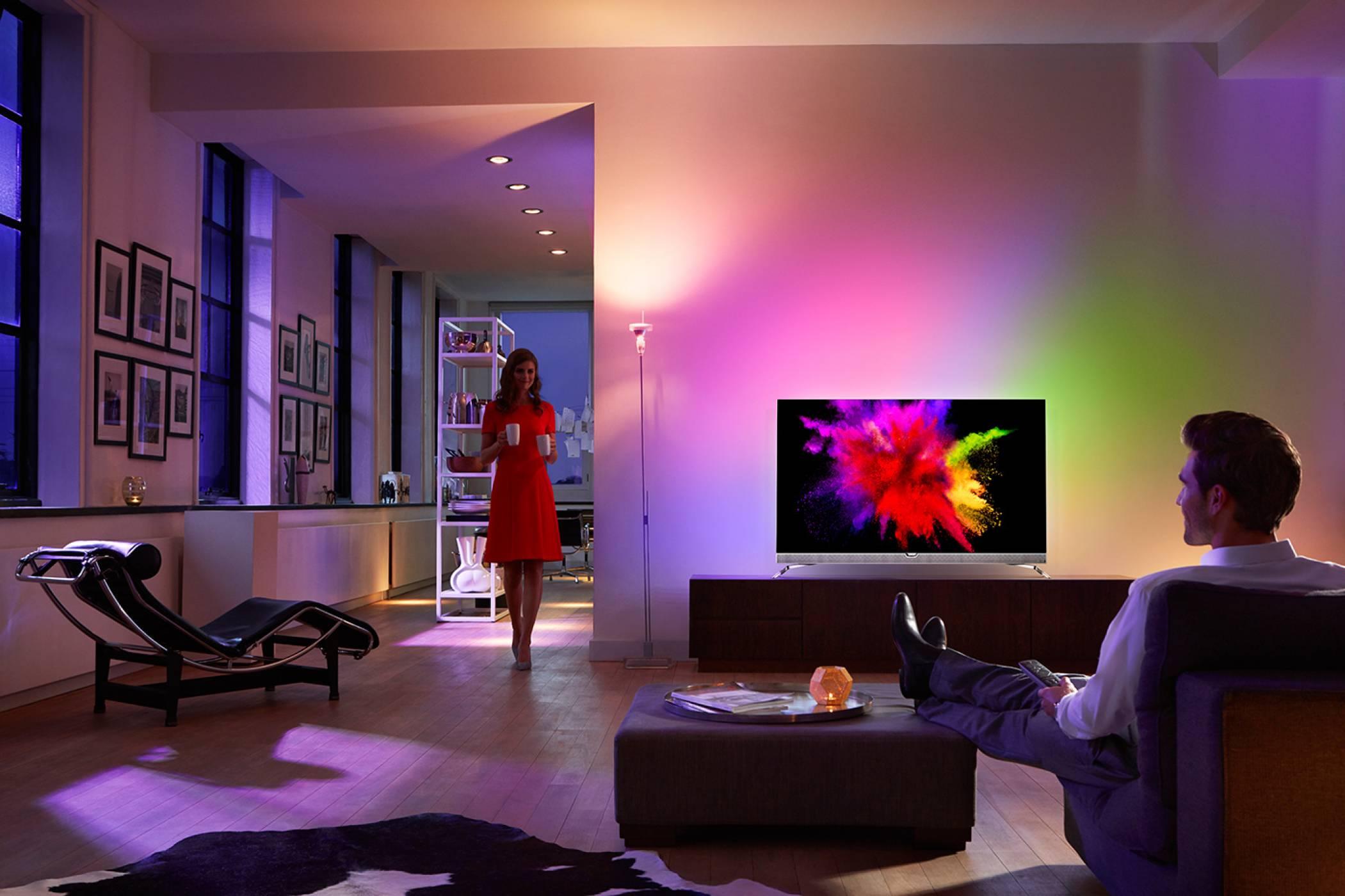 Philips през 2017: ярка светлина  около поглъщащо черно