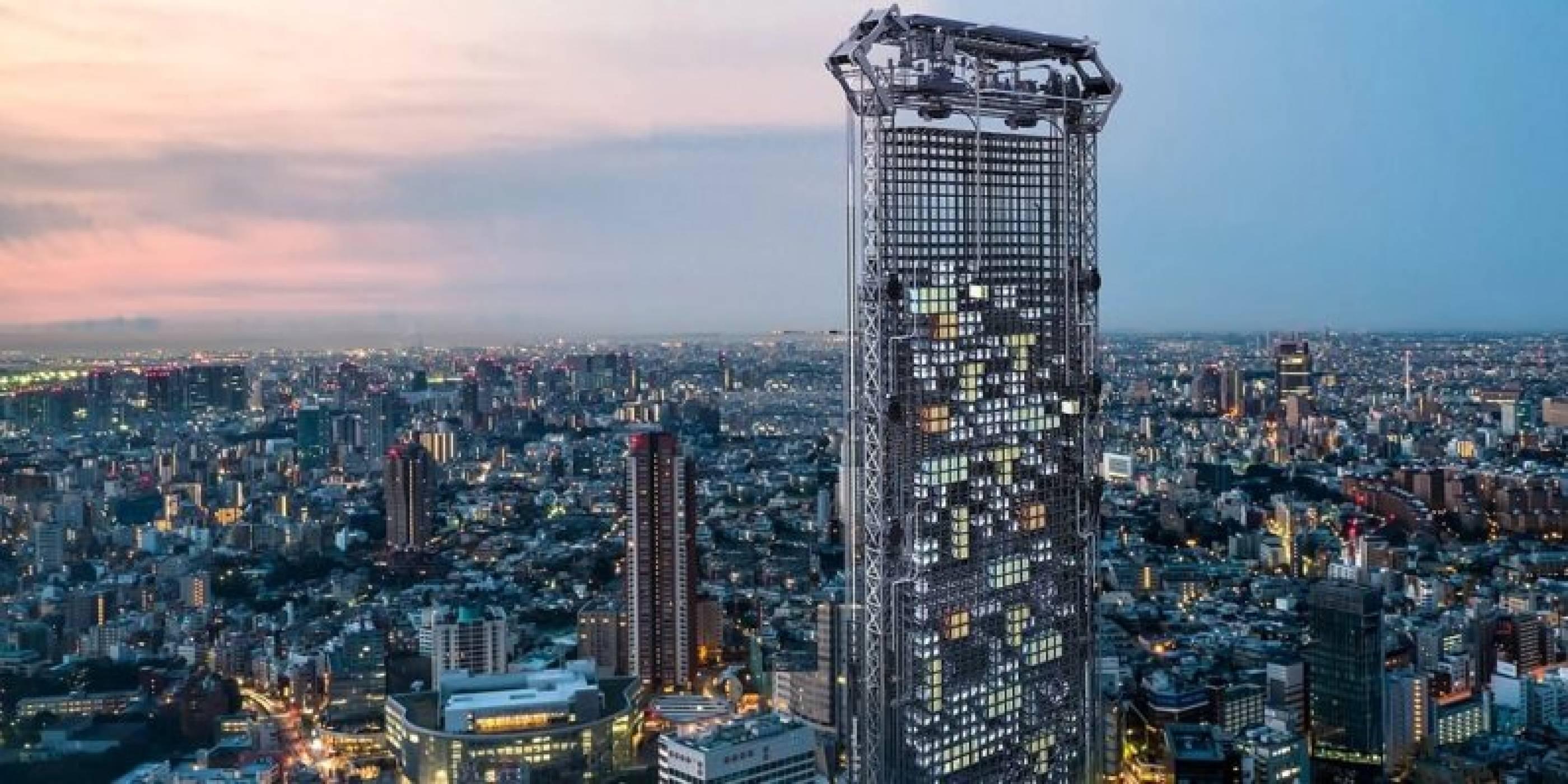Небостъргачът на бъдещето сам ще строи апартаментите си