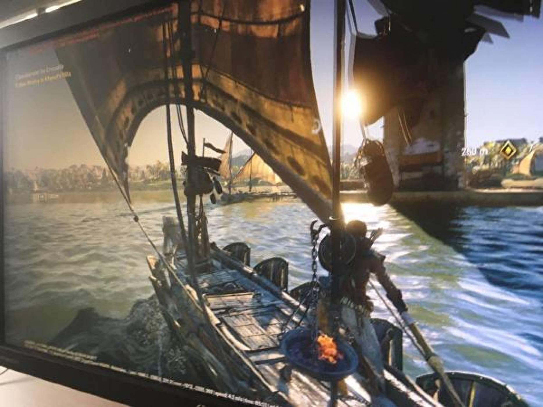 Първи кадър от необявената Assassin's Creed: Origins
