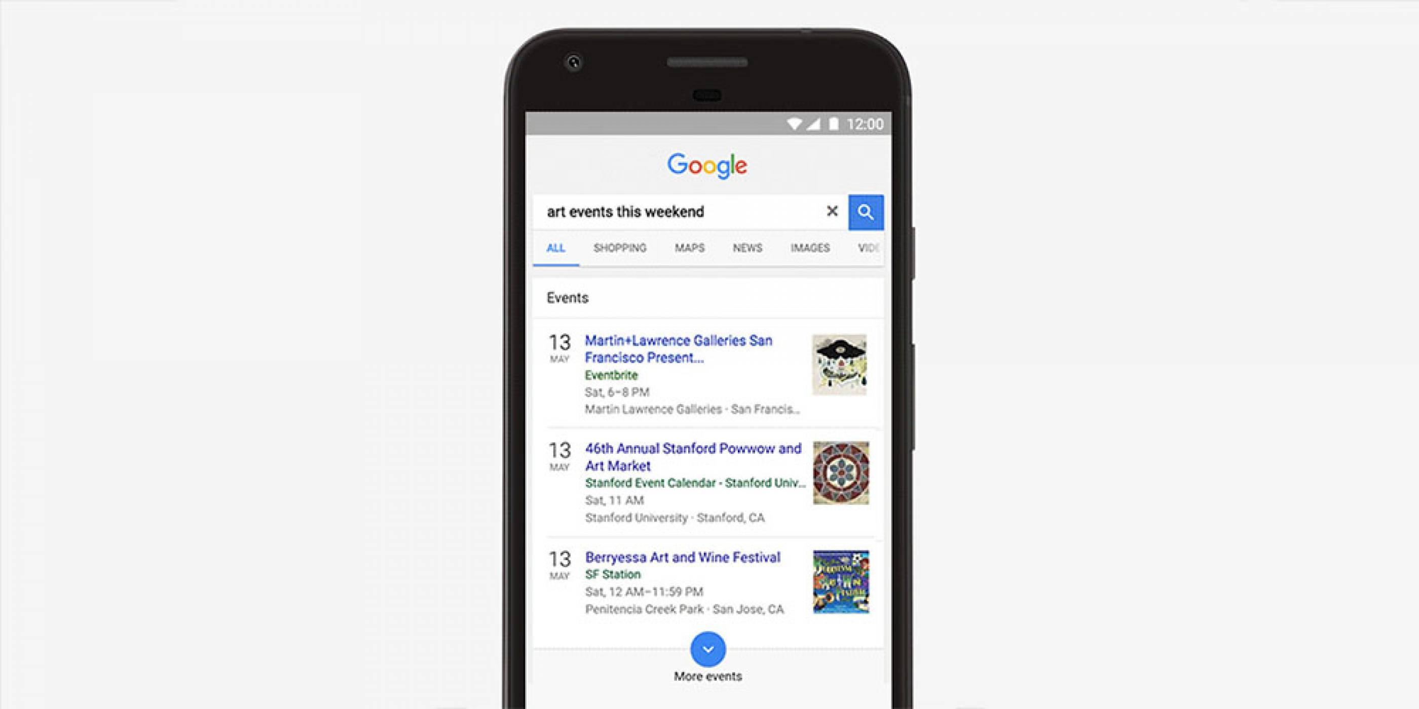 Local events е новата функционалност в търсачката на Google