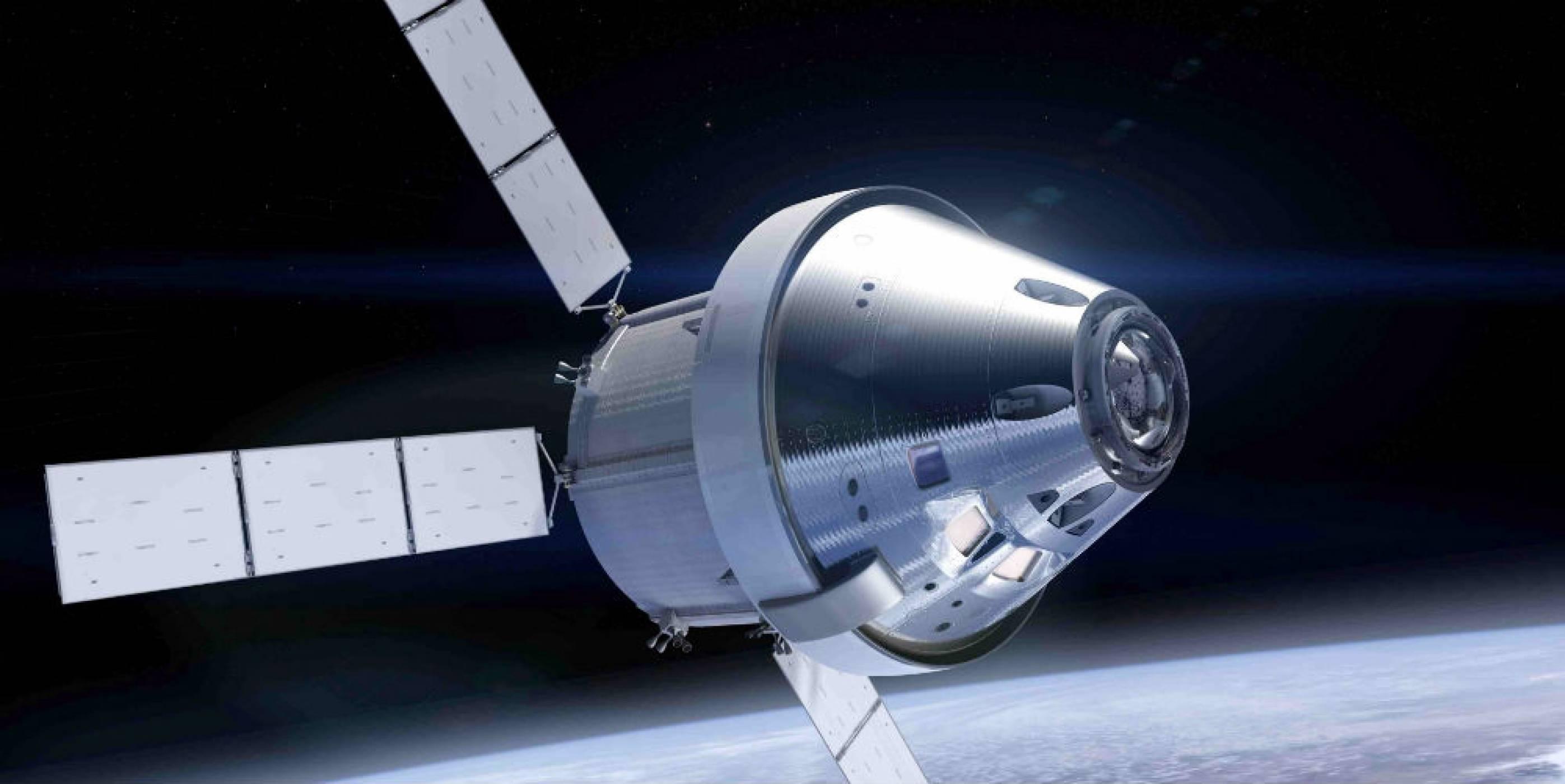 Първата мисия на Orion ще бъде без екипаж на борда