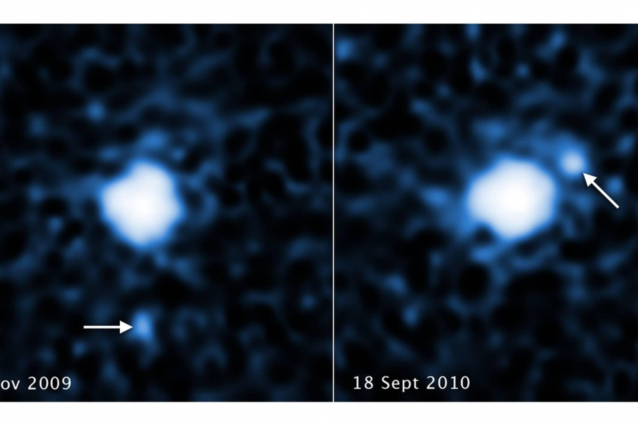 Третата най-голяма планета джудже в Слънчевата система също си има спътник