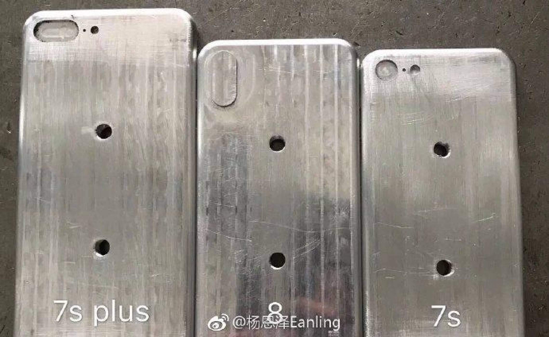 Нови снимки показват калъпи за  iPhone 7s Plus, iPhone 7s и iPhone 8?