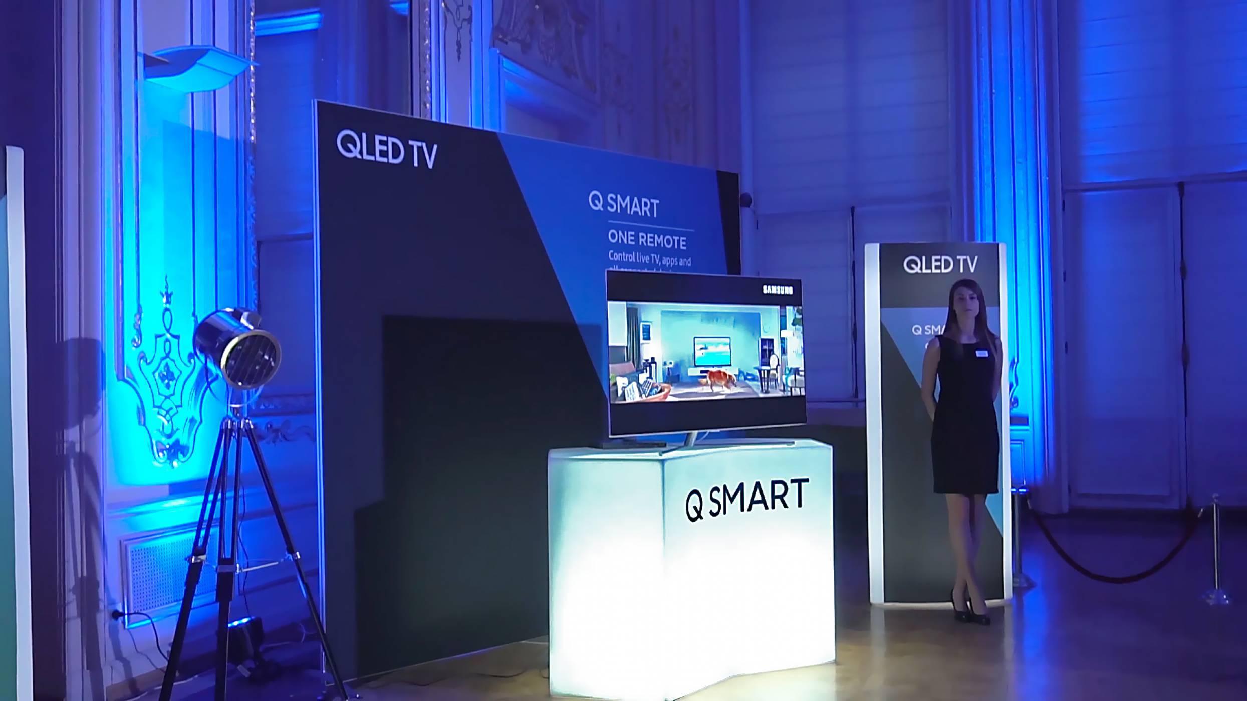Видео от официалното представяне на телевизорите Samsung QLED в България