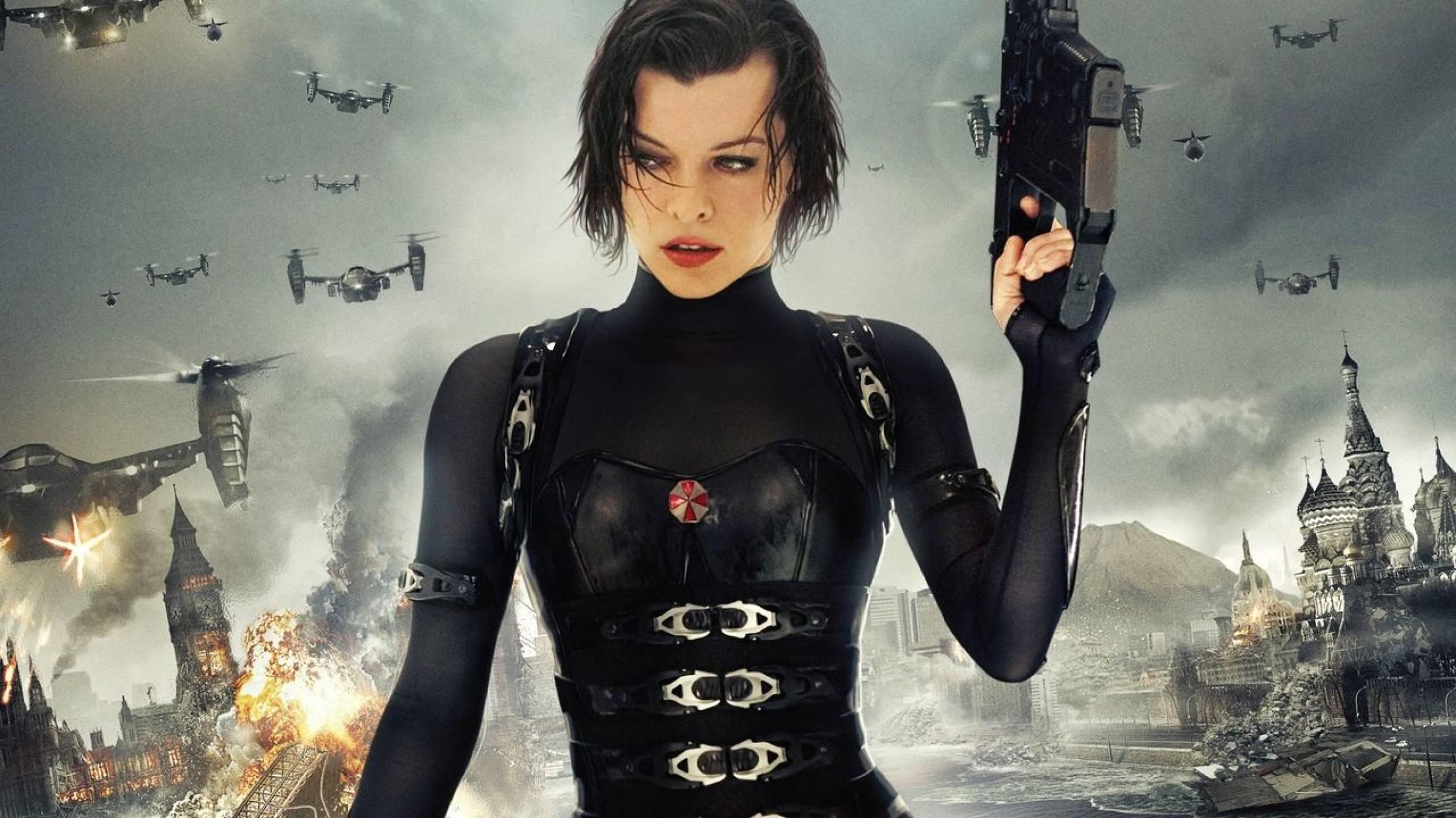След сбогуването миналата година Resident Evil се връща на голям екран