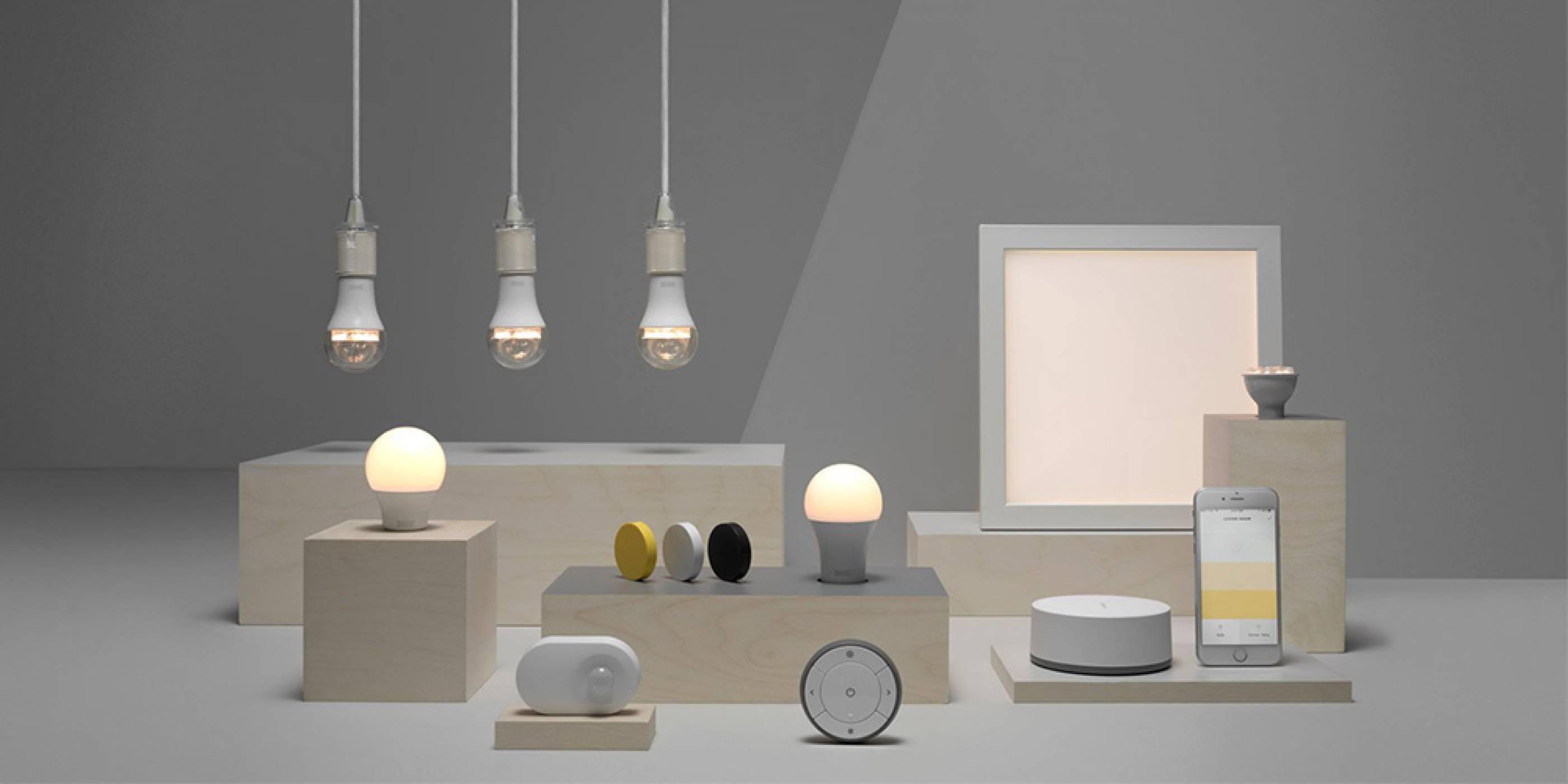 Ikea ще позволи да управляваме умни крушки чрез гласа си