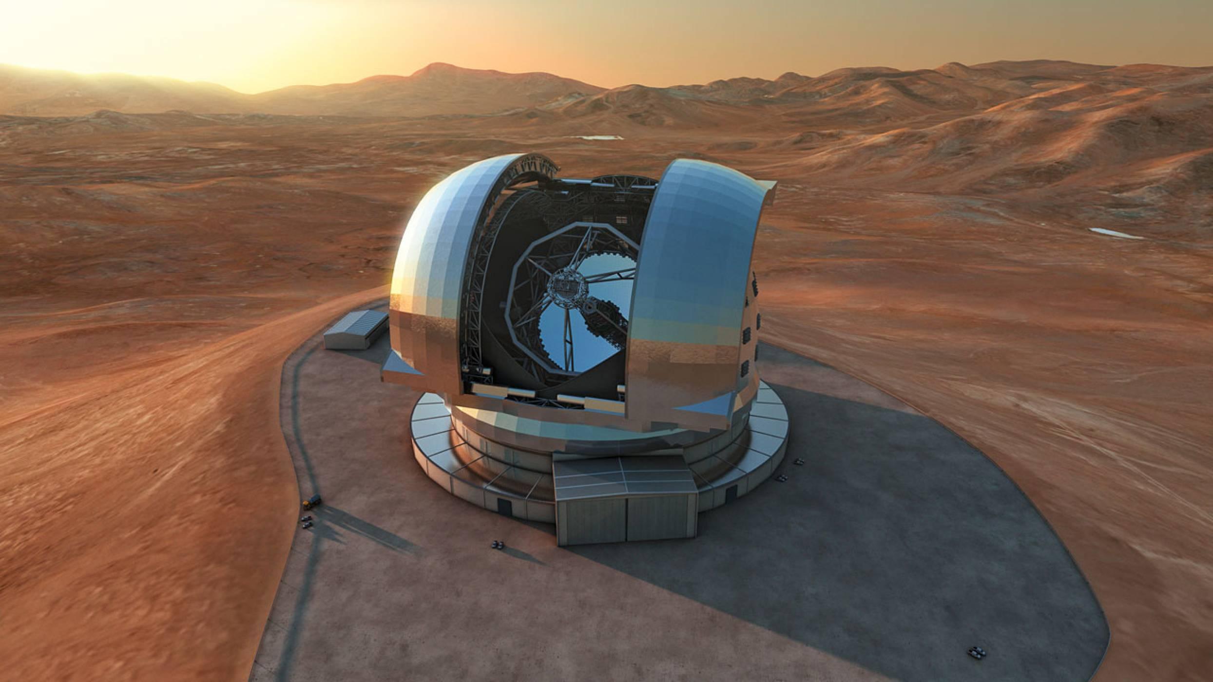 Историята зад най-големия и мощен оптичен телескоп на Земята