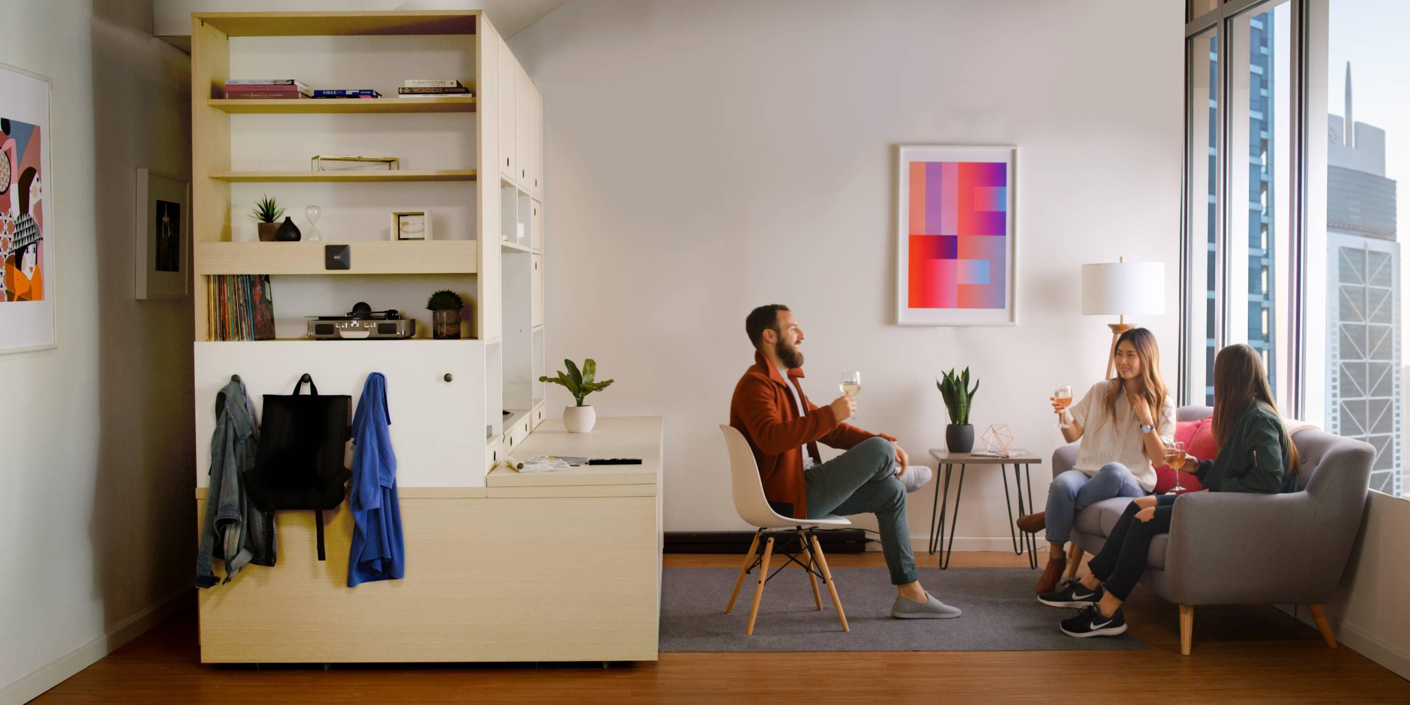 Градският живот никога няма да бъде същият с робо-мебелите на Ori Systems