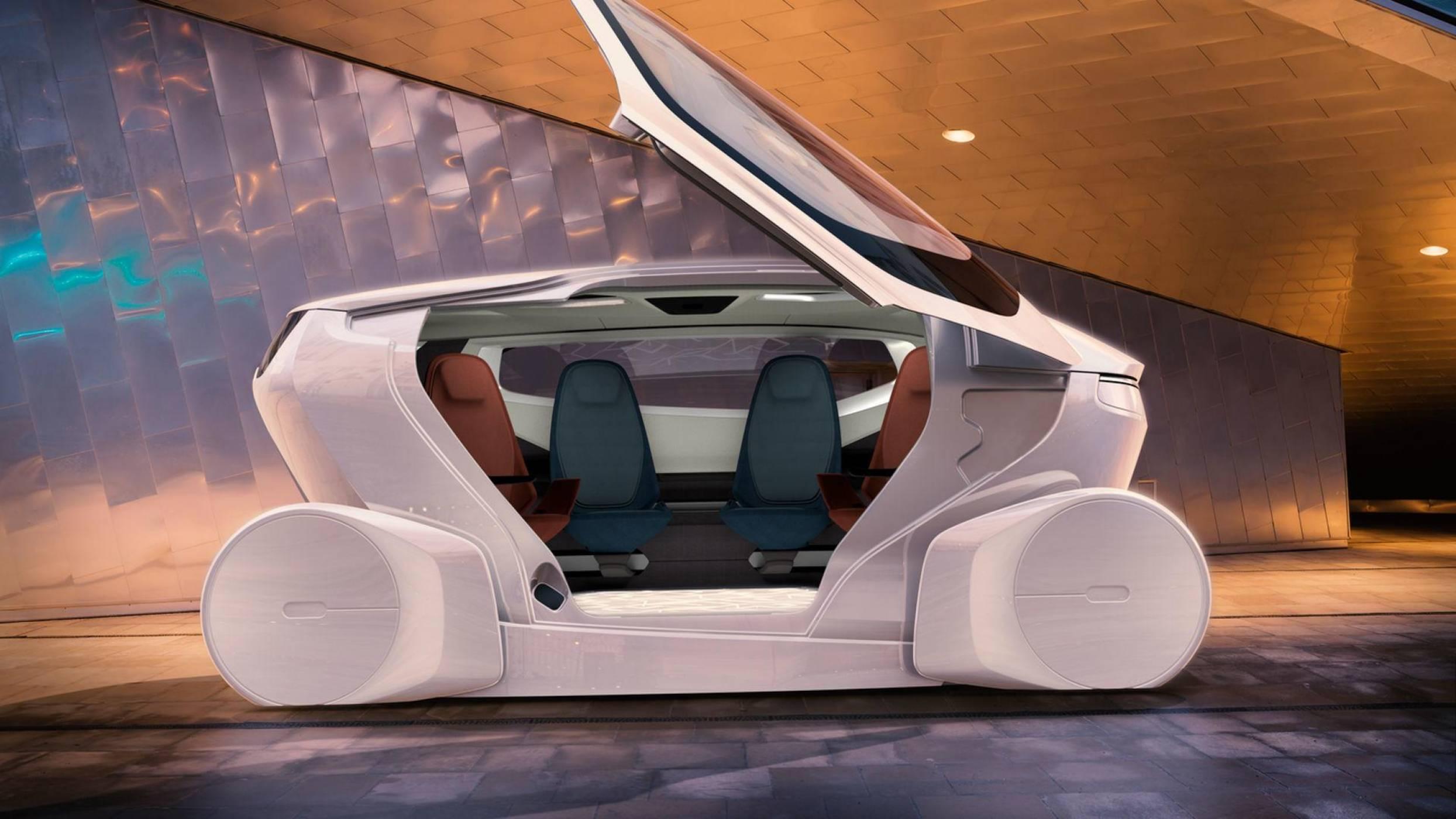 NEVS представиха концептуалната стая на колела за споделено пътуване