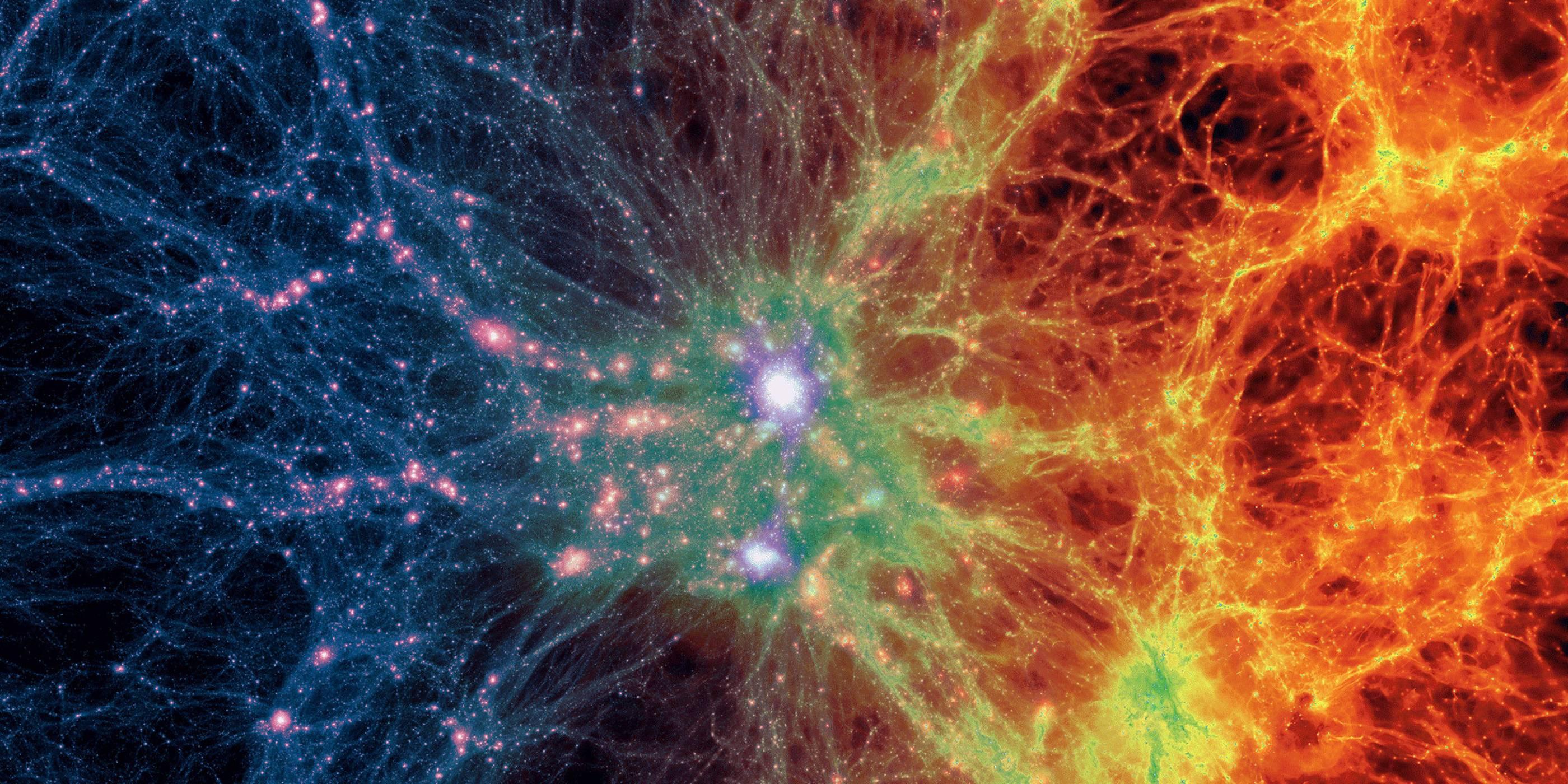 Създадоха най-голямата виртуална вселена в суперкомпютър