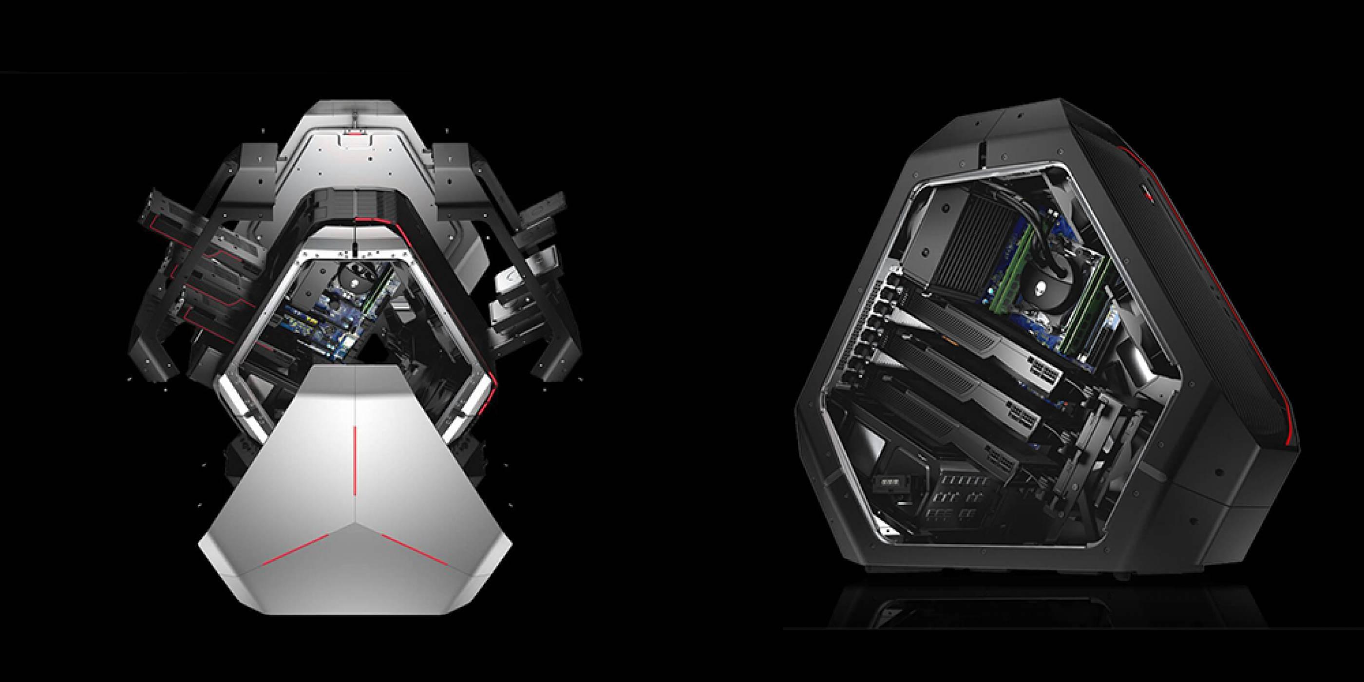 Alienware представи новия си геймърски компютър Area 51 с ново поколение Intel и AMD процесори