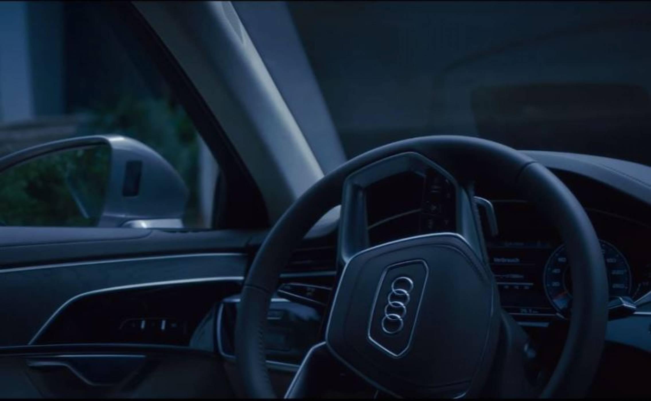 Аudi показа как новото A8 паркира самостоятелно в ново видео