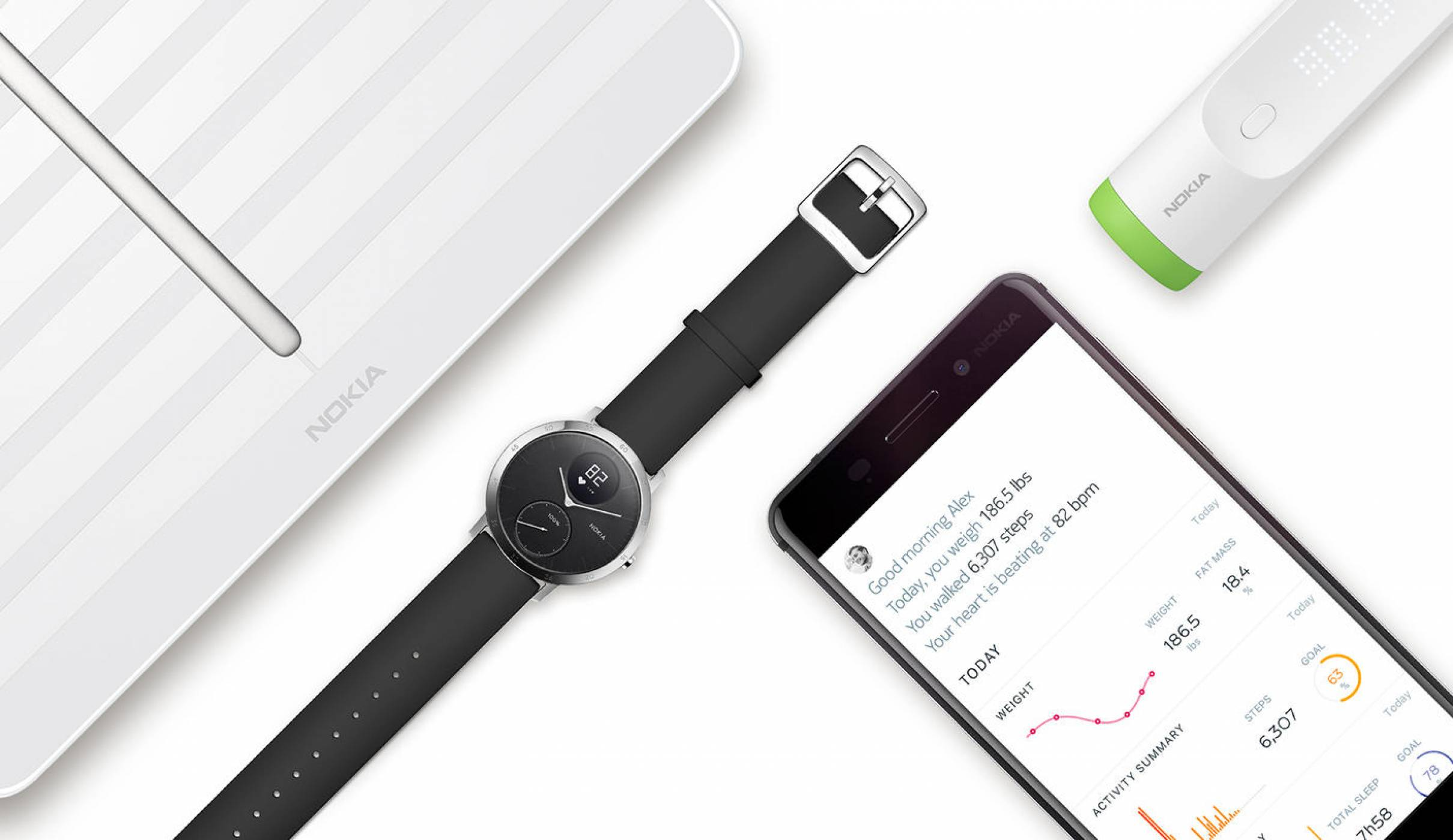 Продуктите на Withings вече са ребрандирани с името на Nokia