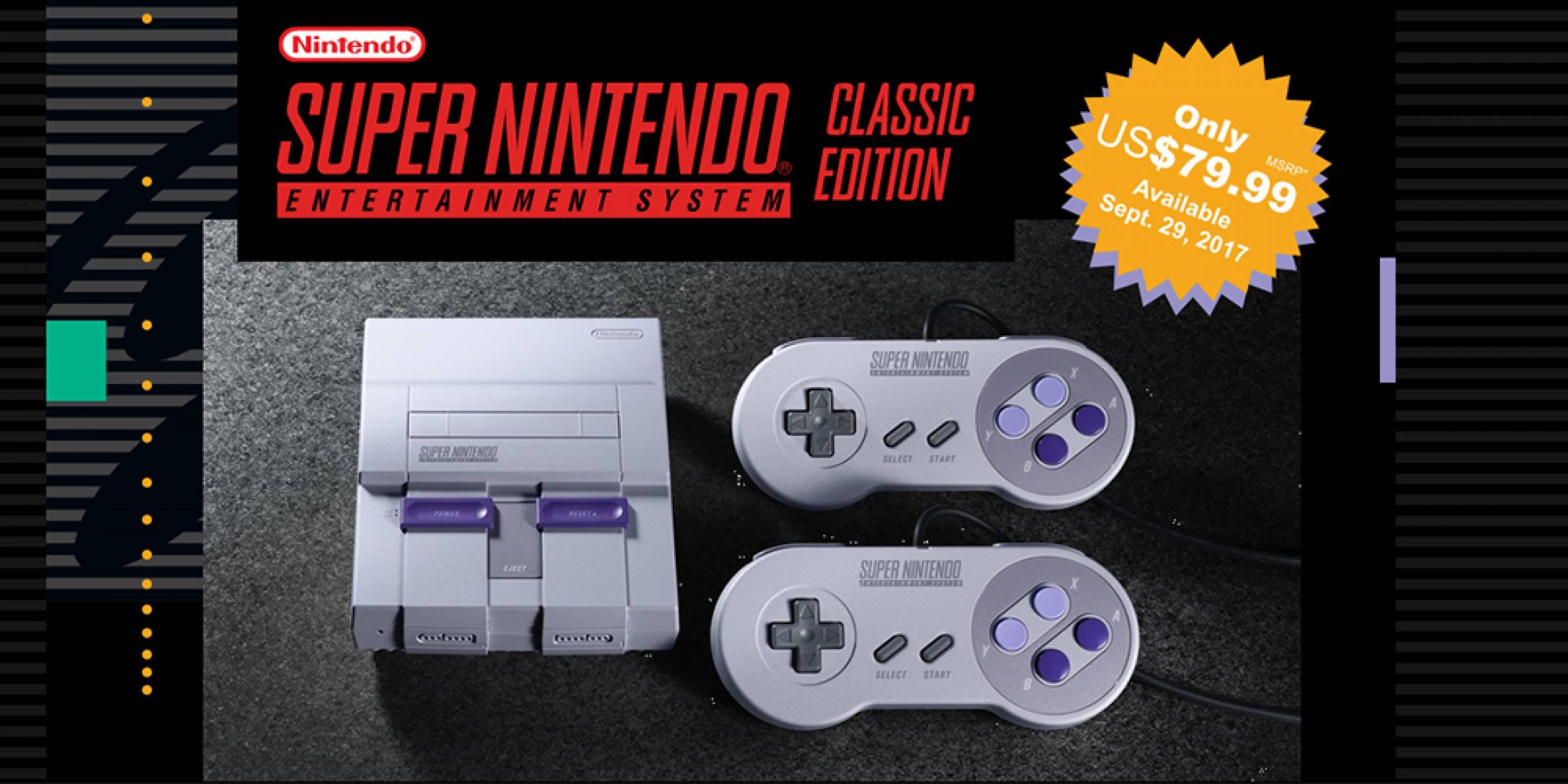 Nintendo обяви, че ще пусне SNES Classic срещу 80 щатски долара тази есен