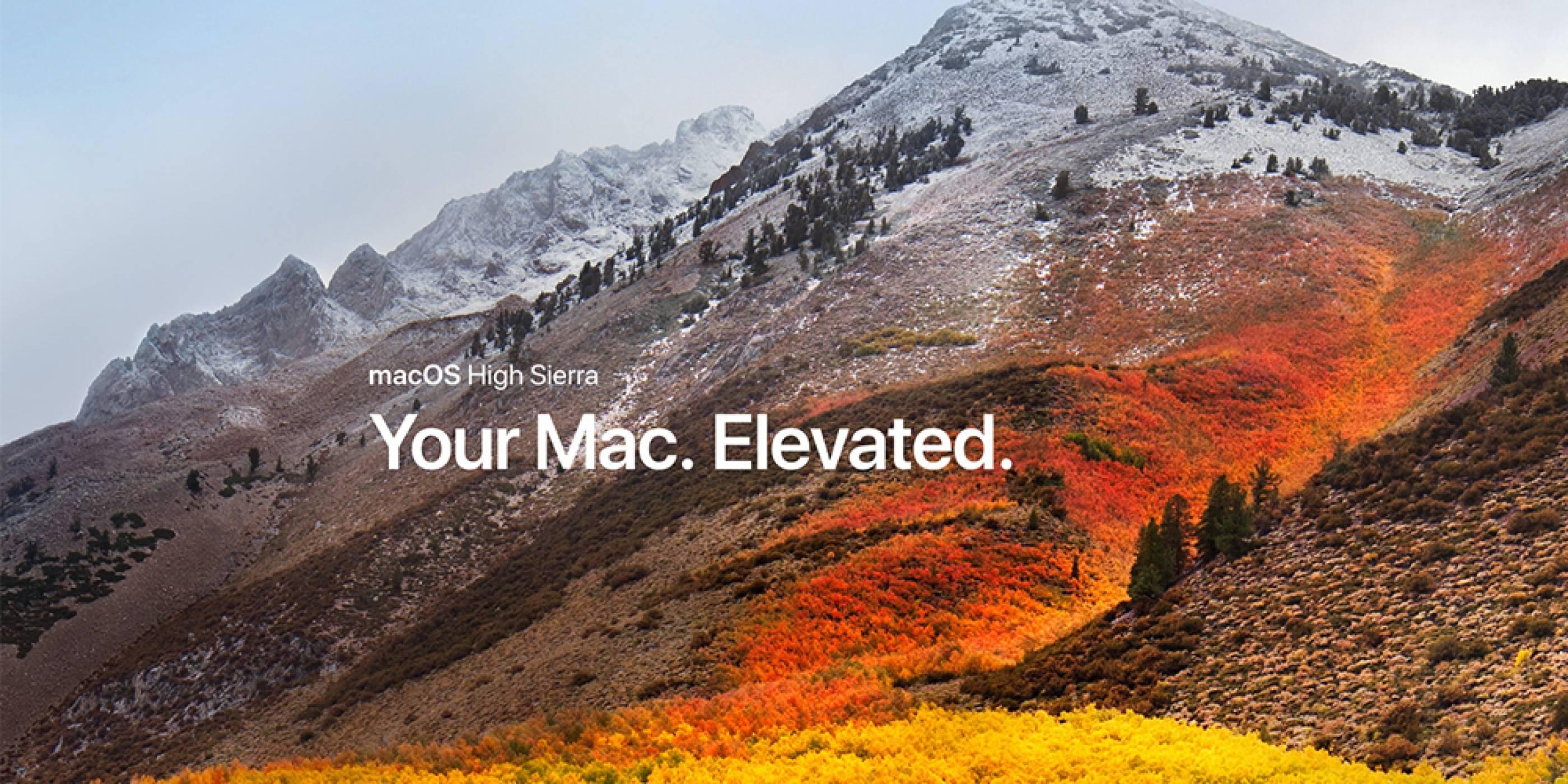 Apple пусна публичната бета-версия на macOS High Sierra