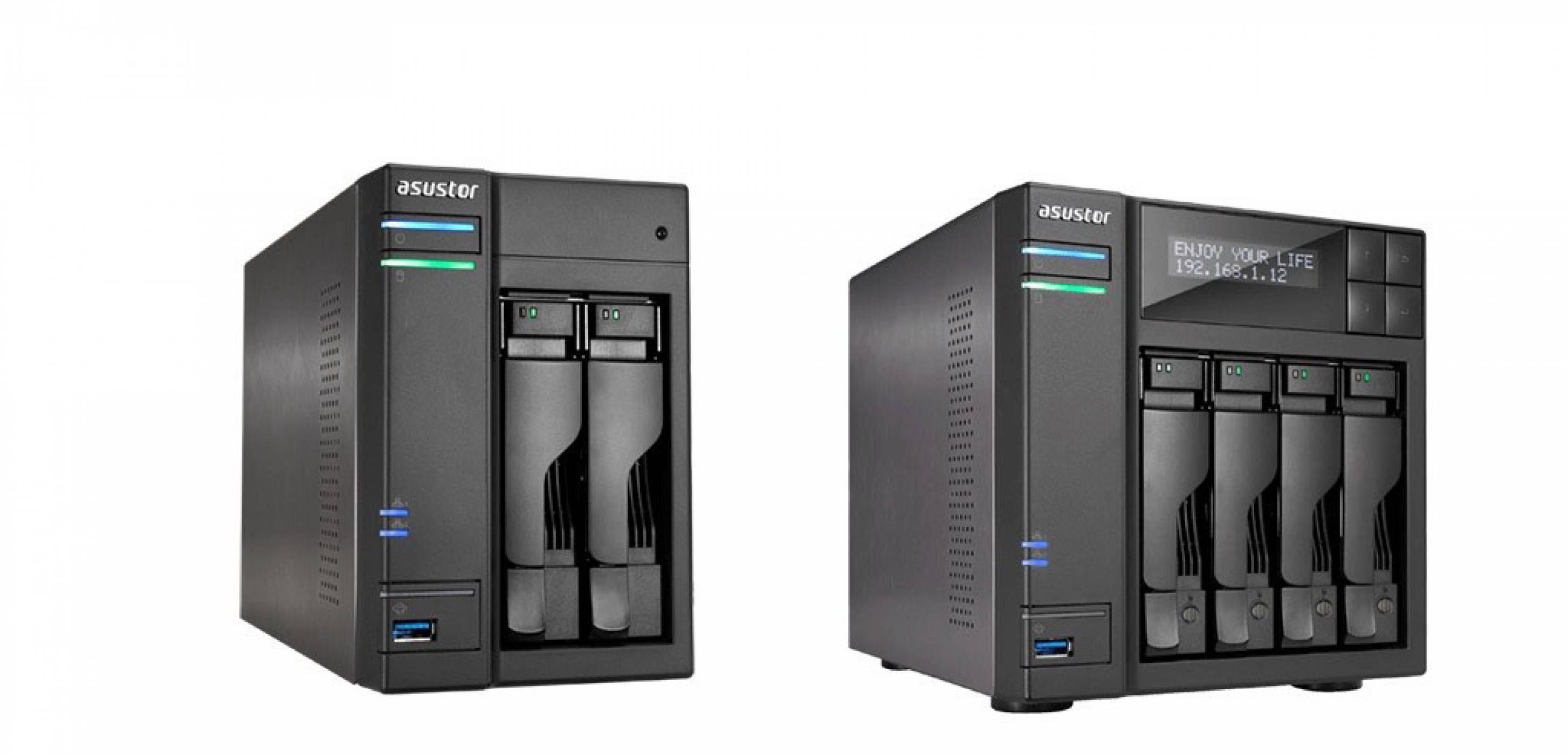 """Asustor AS6302T и AS6404T - първите домашни NAS с възможност за """"събуждане"""" през интернет (ревю)"""