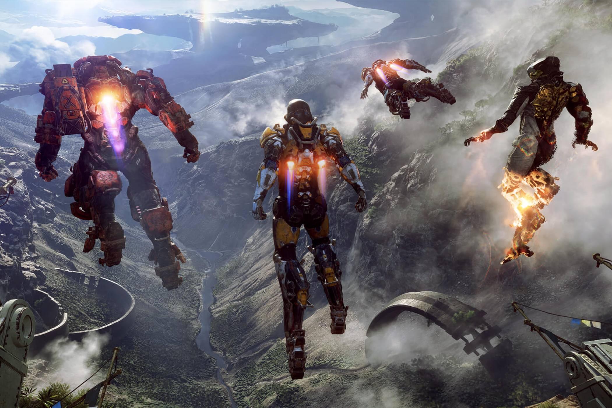 Официалният PS4 трейлър на Anthem е с геймплей на Xbox One