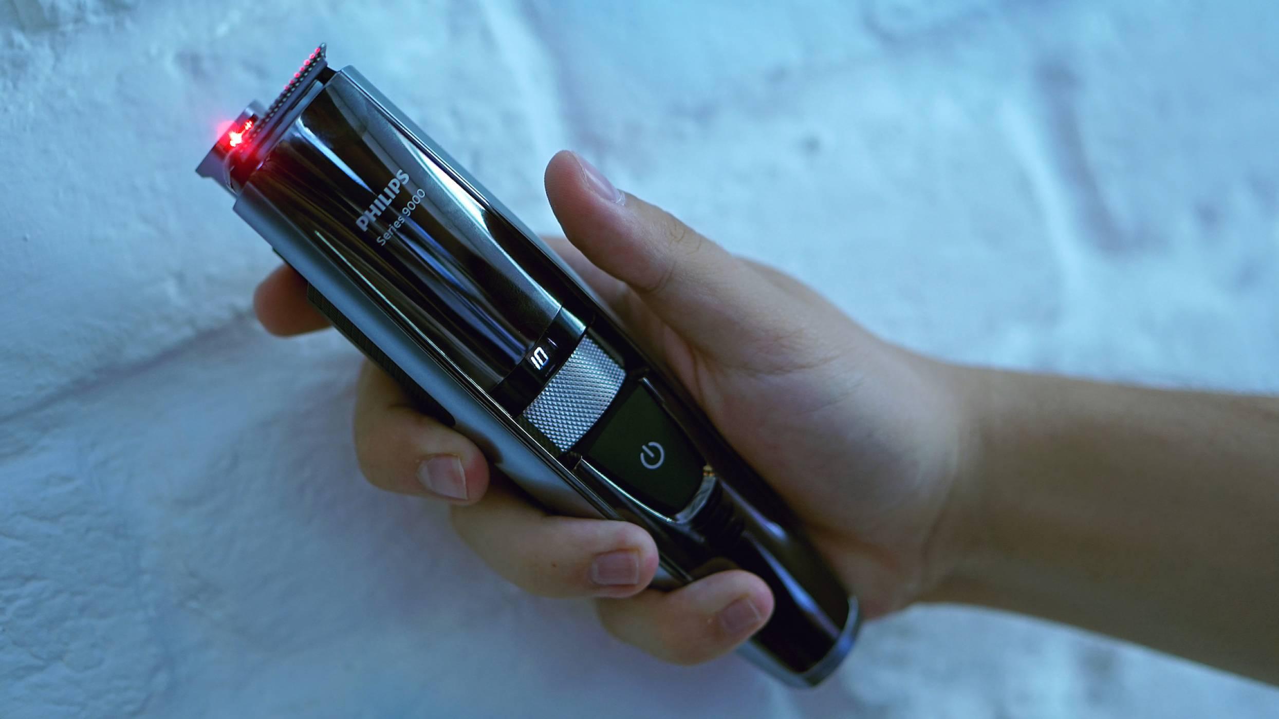 Лазер за по-равна брада? Да, с тримера Philips Серия 9000