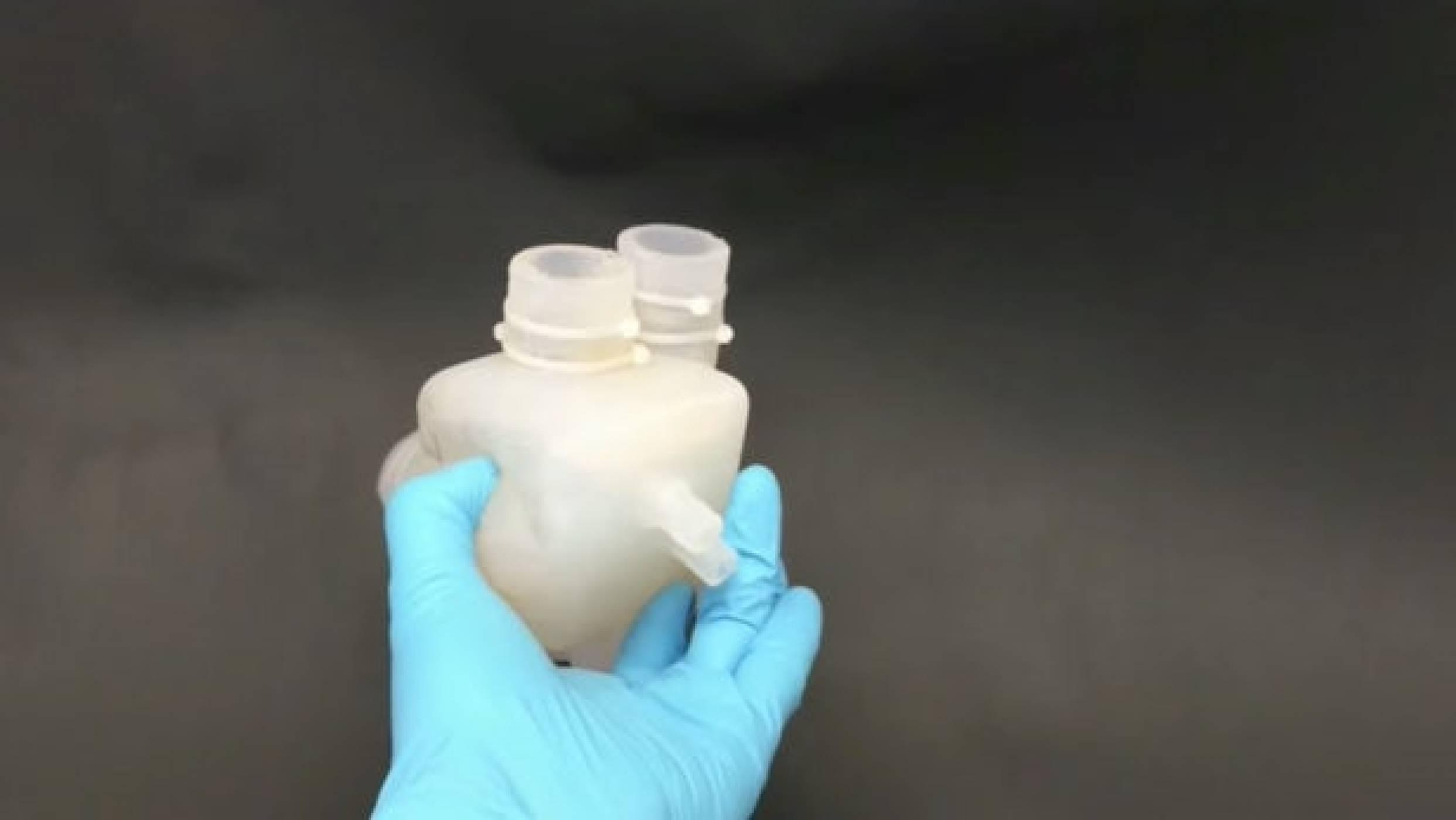 Създадоха 3D-принтирано изкуствено сърце, което бие като истинско