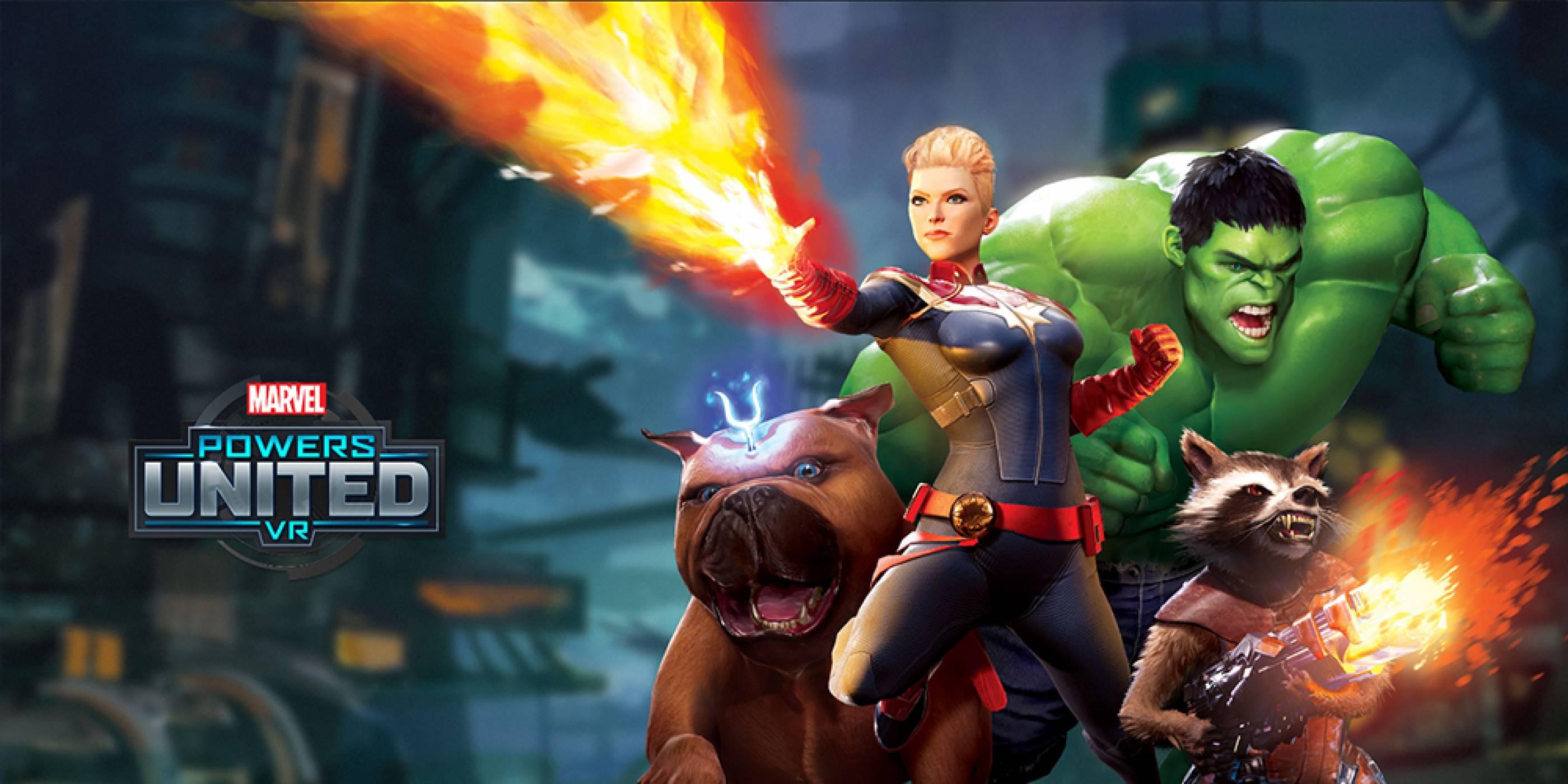 Powers United VR е игра, в която ще можете да влезете в ролята на героите от Marvel вселената