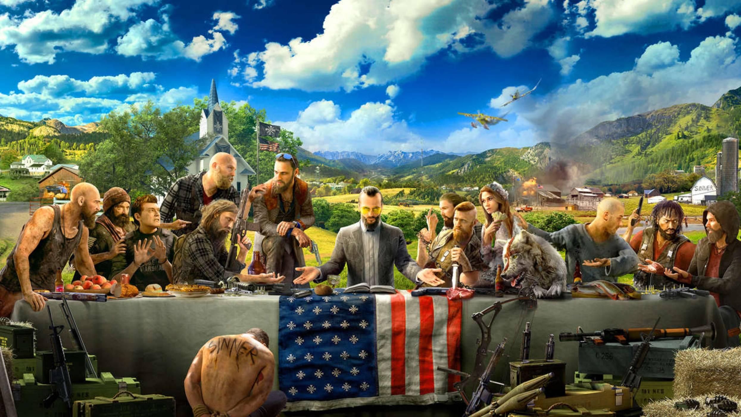 Лудостта във Far Cry 5 продължава около 30 часа