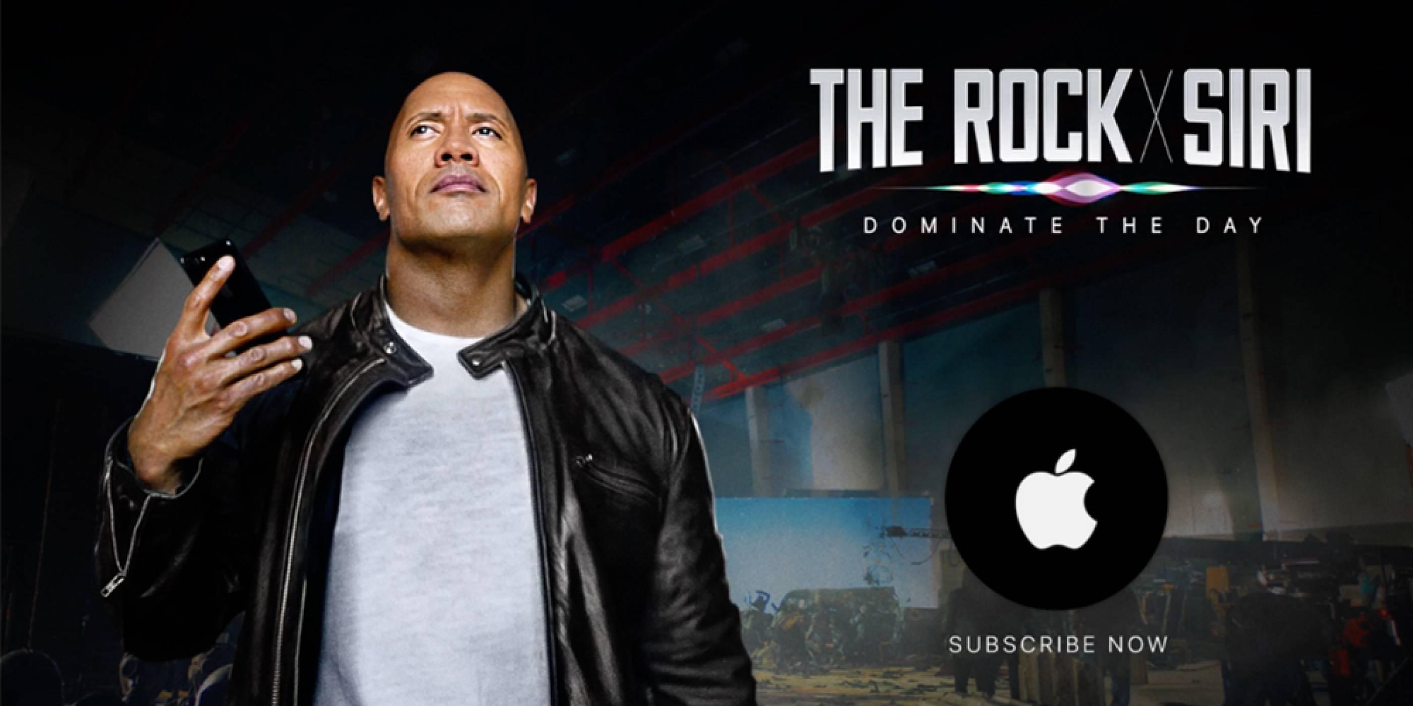 The Rock x Siri: Dominate The Day е новата надъхваща реклама на гласовия асистент на Apple