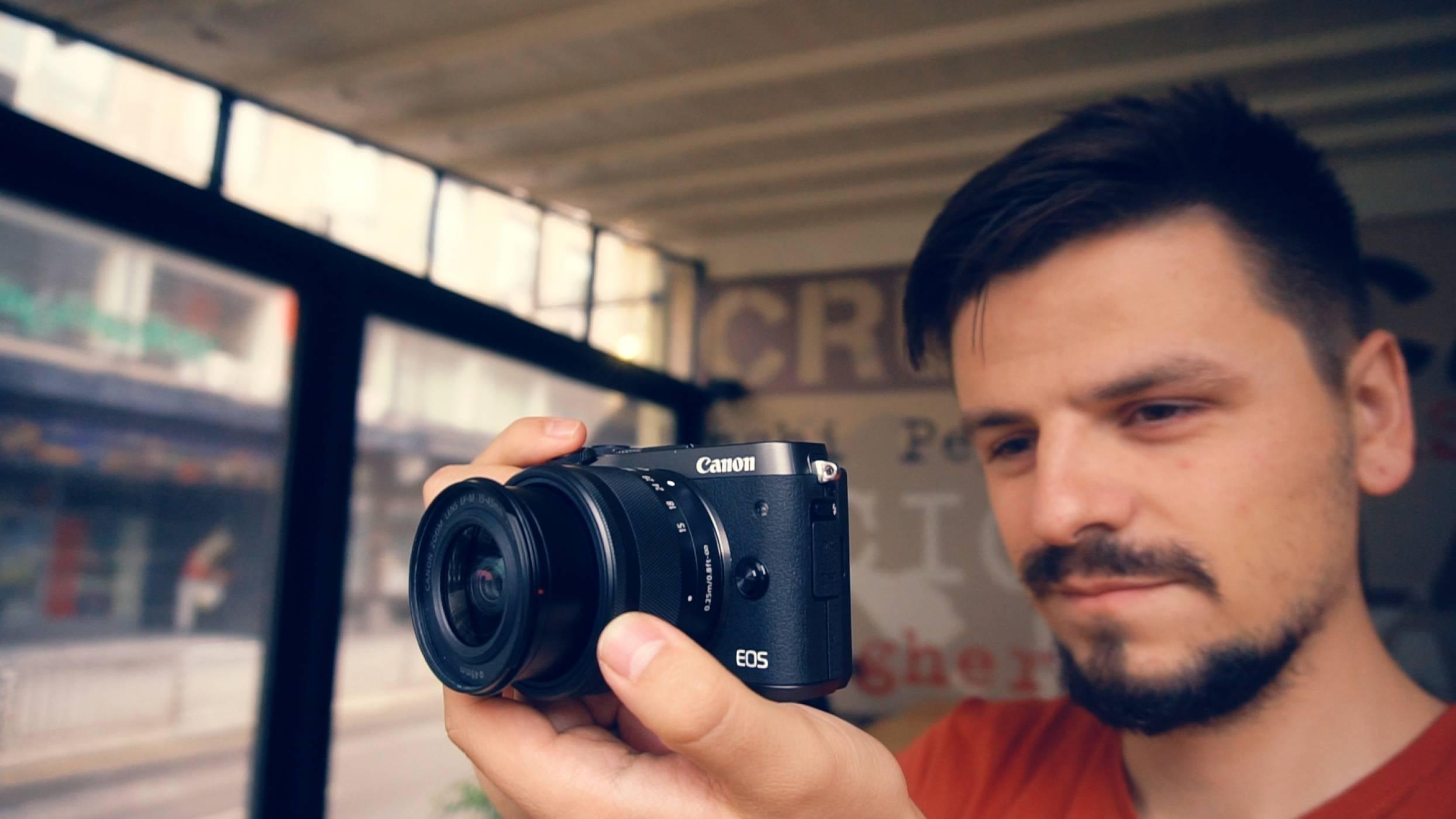 EOS M6 - най-доброто от безогледалния свят на Canon