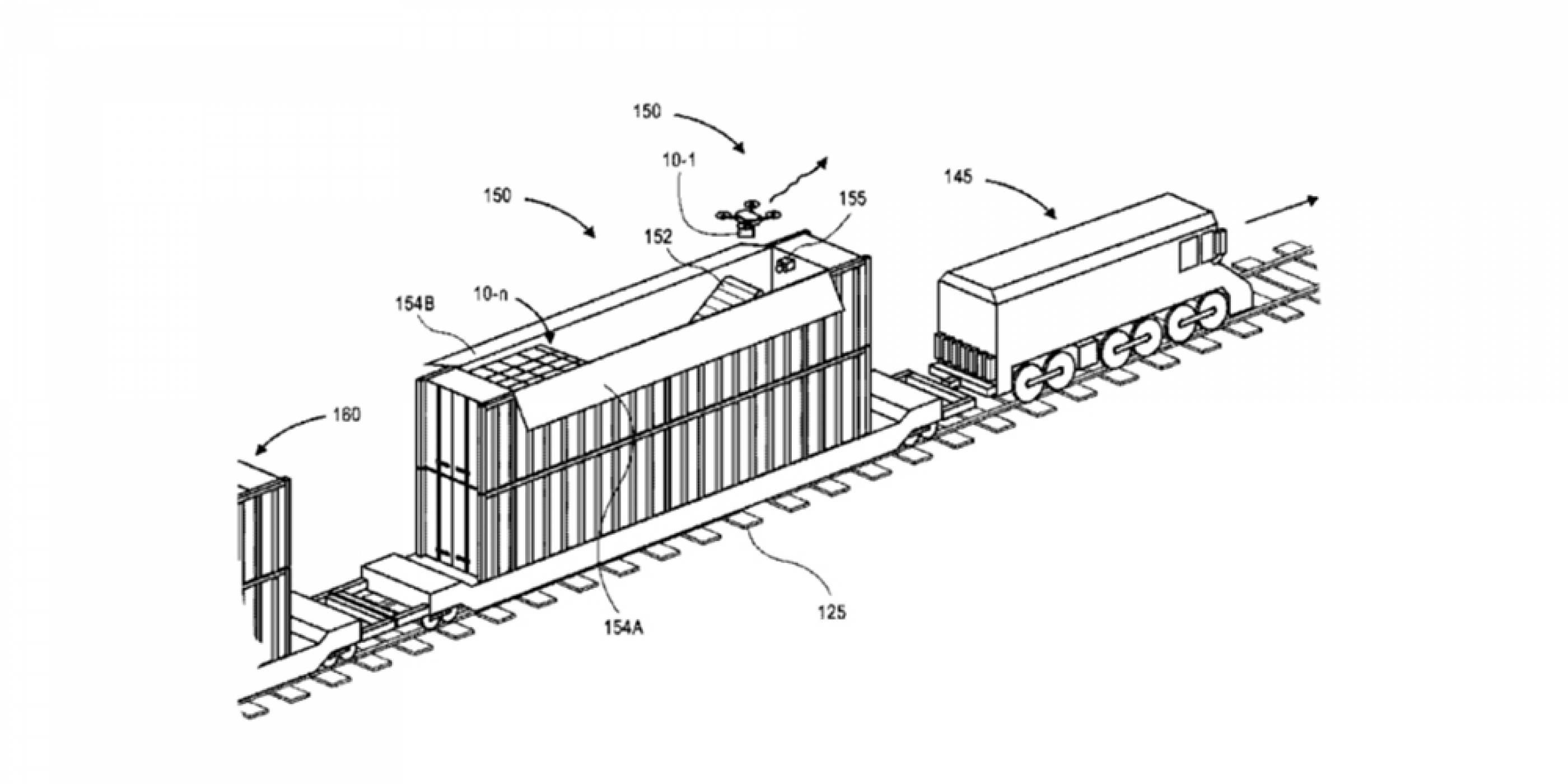 Amazon със заявка за патент за доставки на стоки с дронове и съпътстващи превозни средства за тях