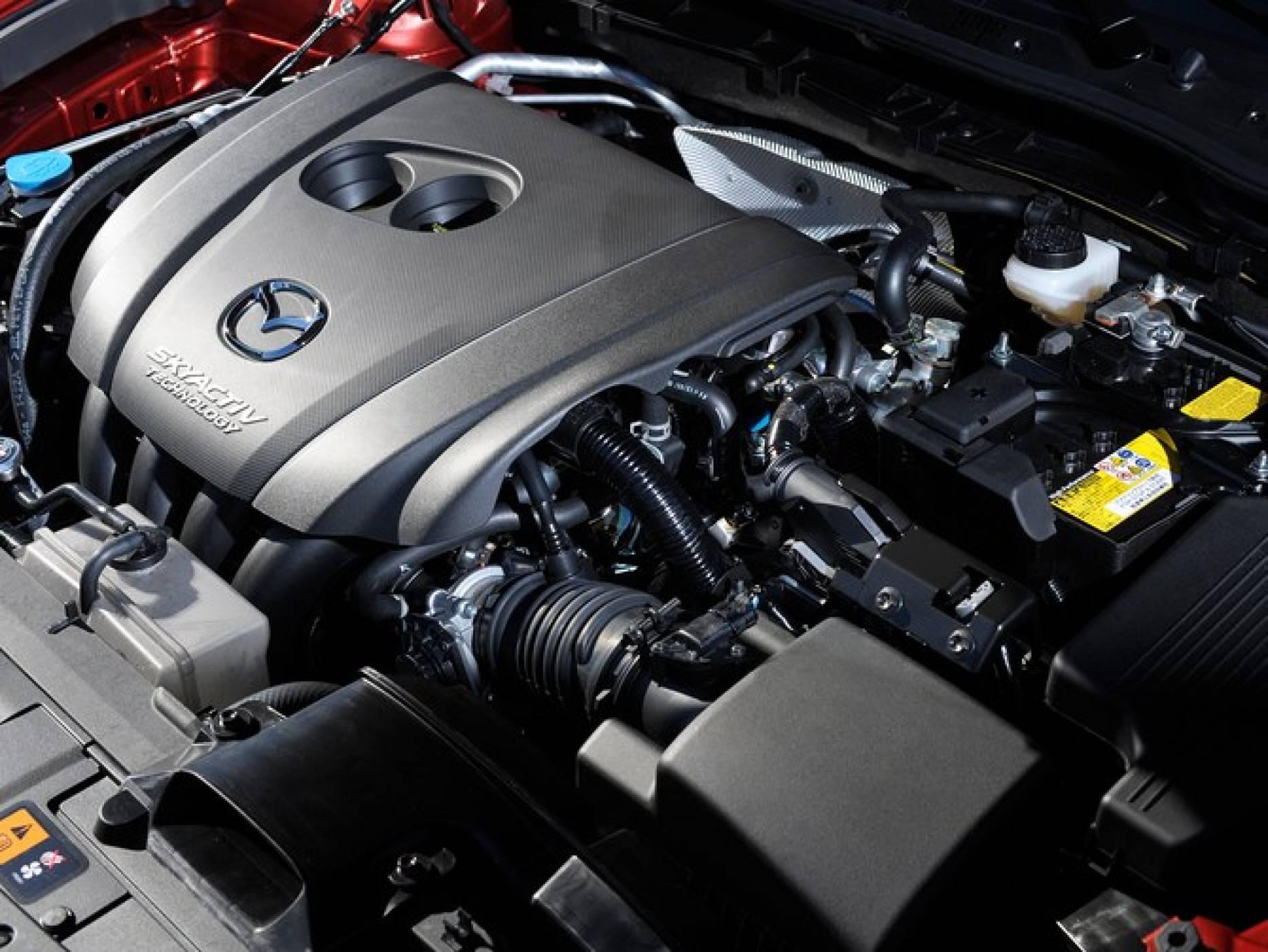 Новият двигател на Mazda с по-голям пробег при по-малък разход