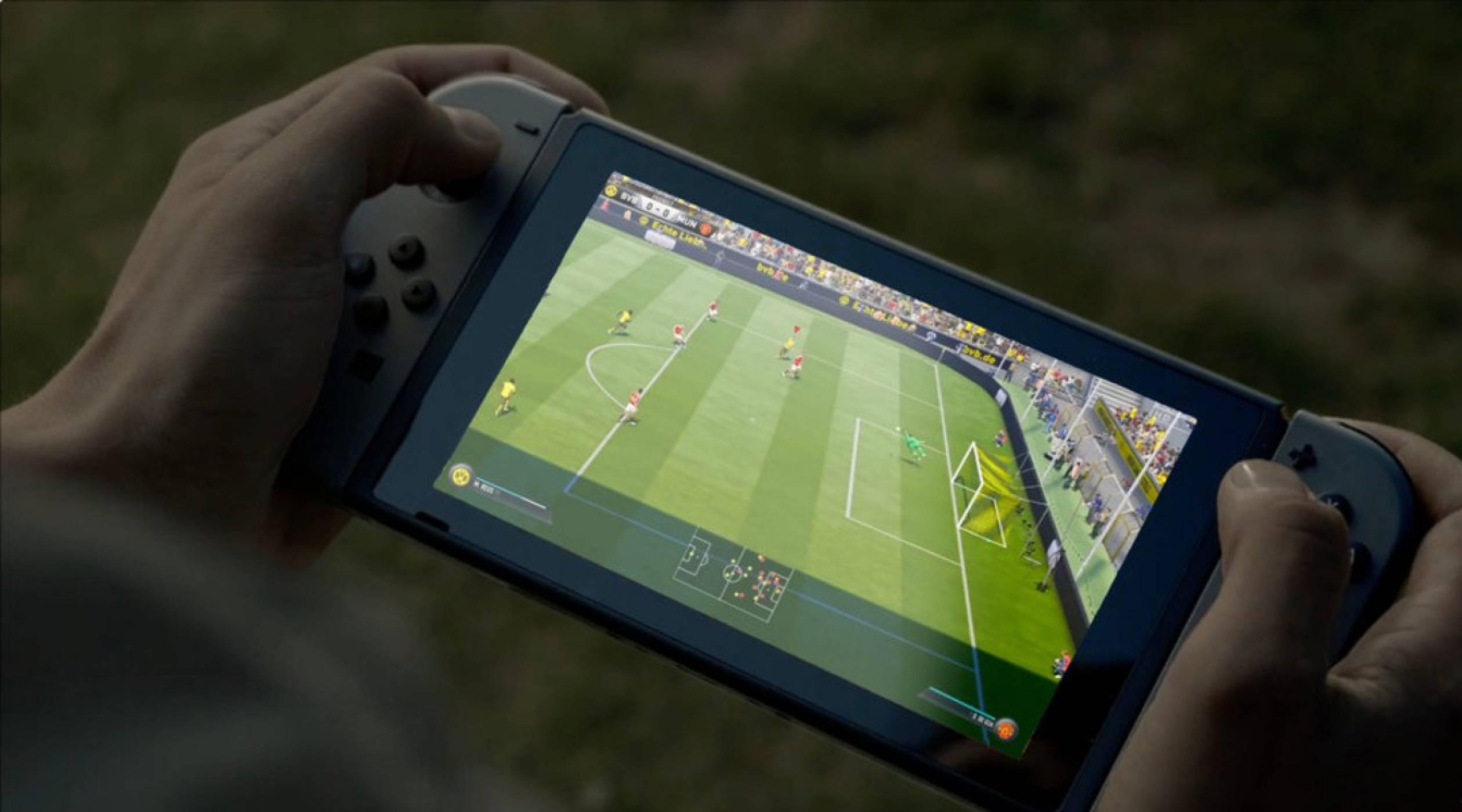 Любовта между ЕА и Nintendo Switch минава през FIFA 18