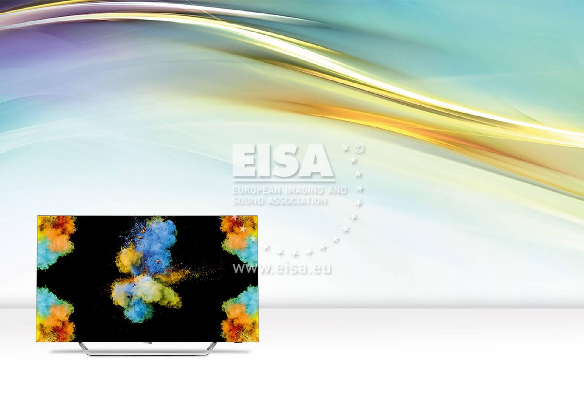TP Vision щастливи с наградата от EISA за OLED модела Philips 55POS9002