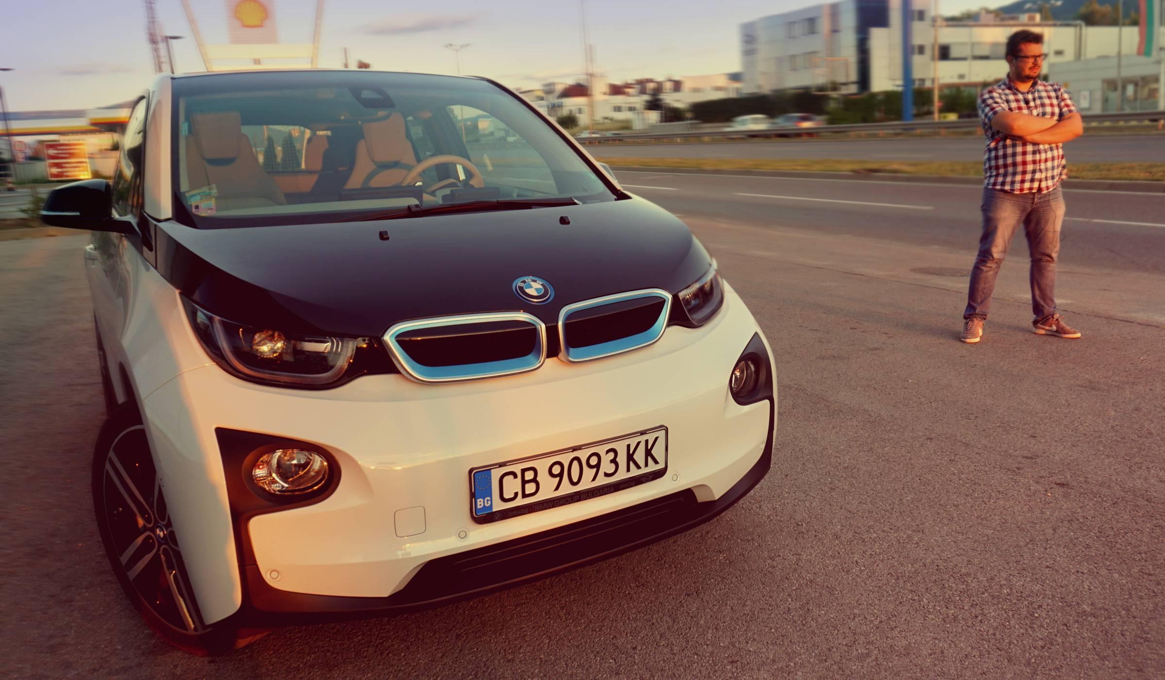 Роден електрически - зад волана на BMW i3 (видео)