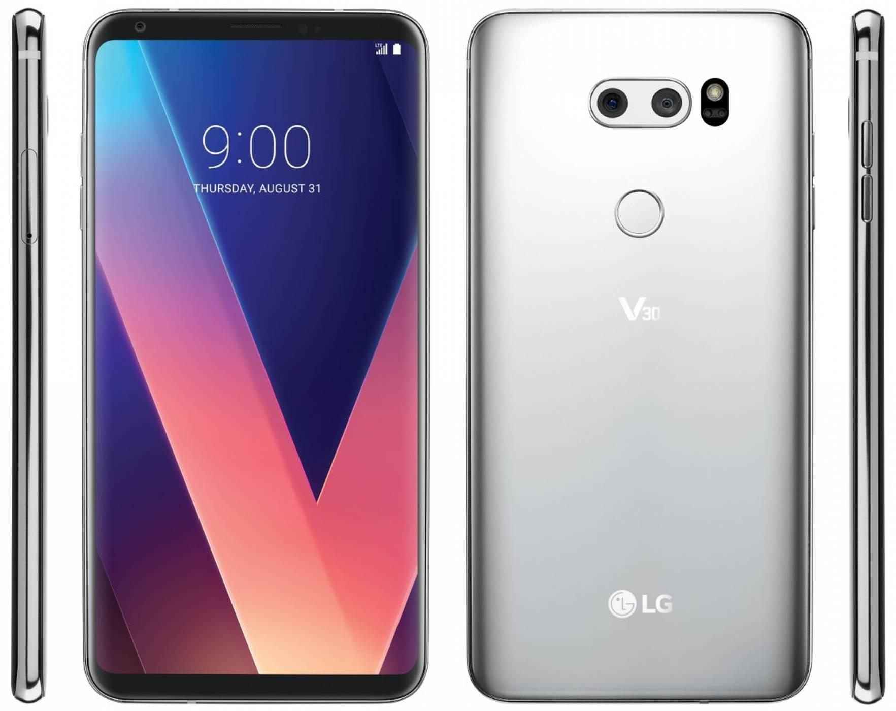 LG V30 ни гледа от нови рендери