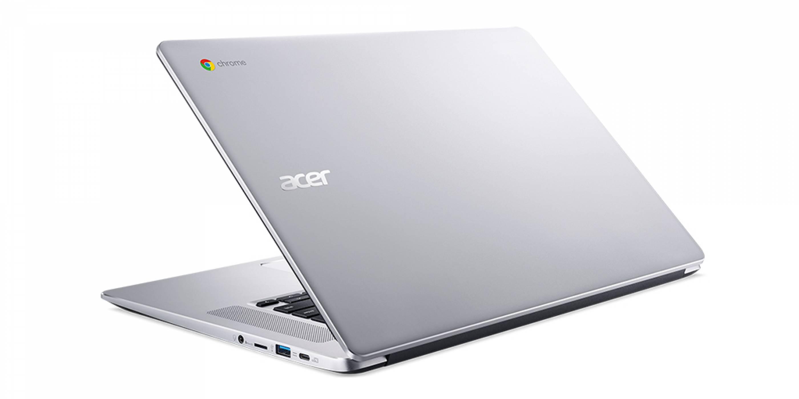 Новият Chromebook на Acer вече е алуминиев и има 12 часа живот на батерията