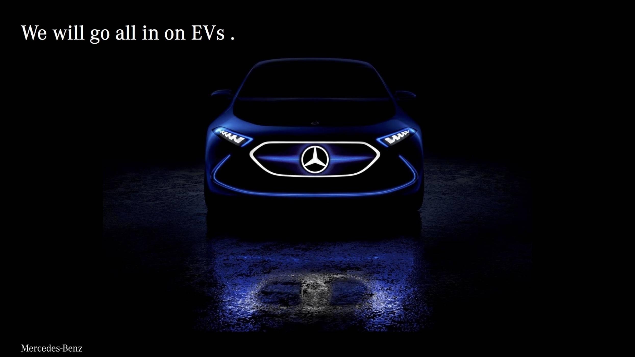 Всеки модел на Mercedes с електрическа версия до 2022 г.