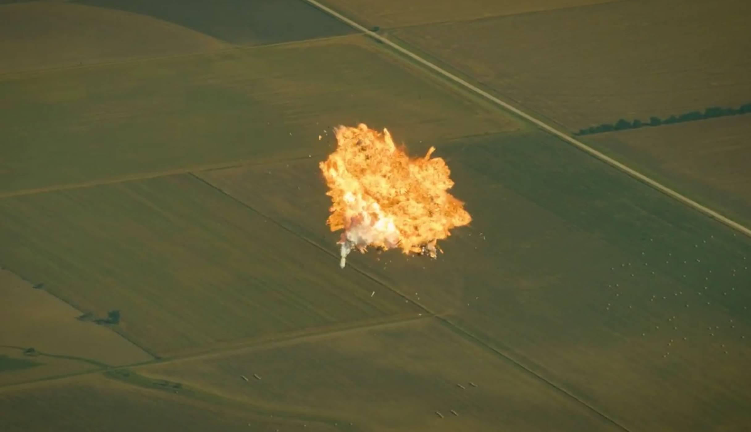 SpaceX ни учи как не трябва да се приземява ракета