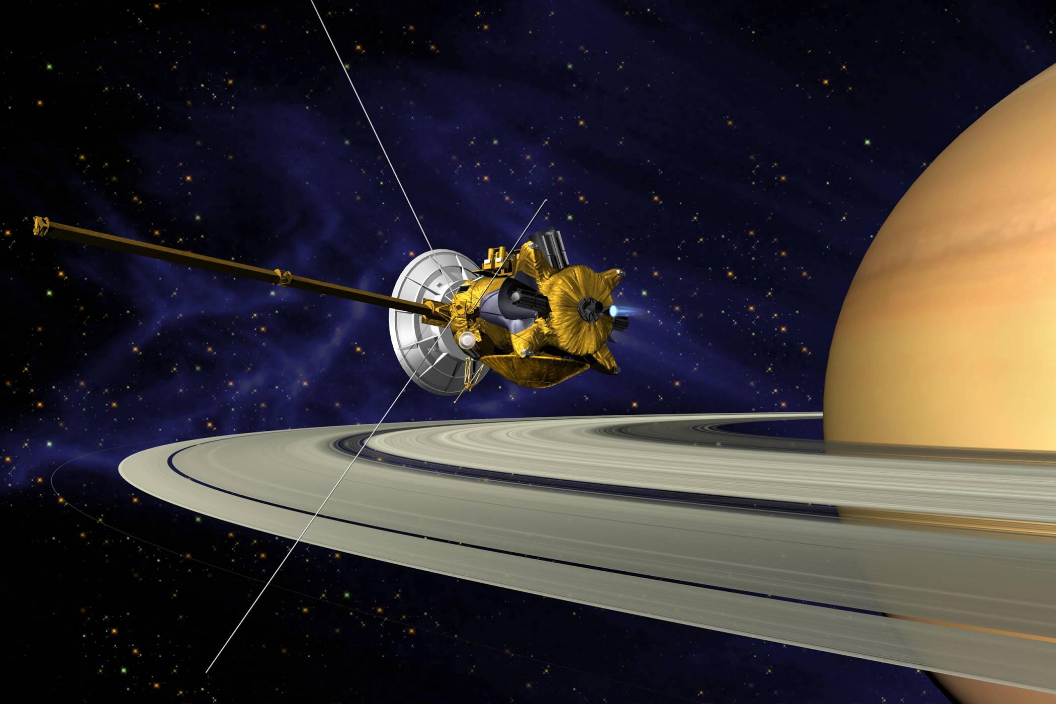 Гледайте на живо как Cassini ще приключи славната си мисия