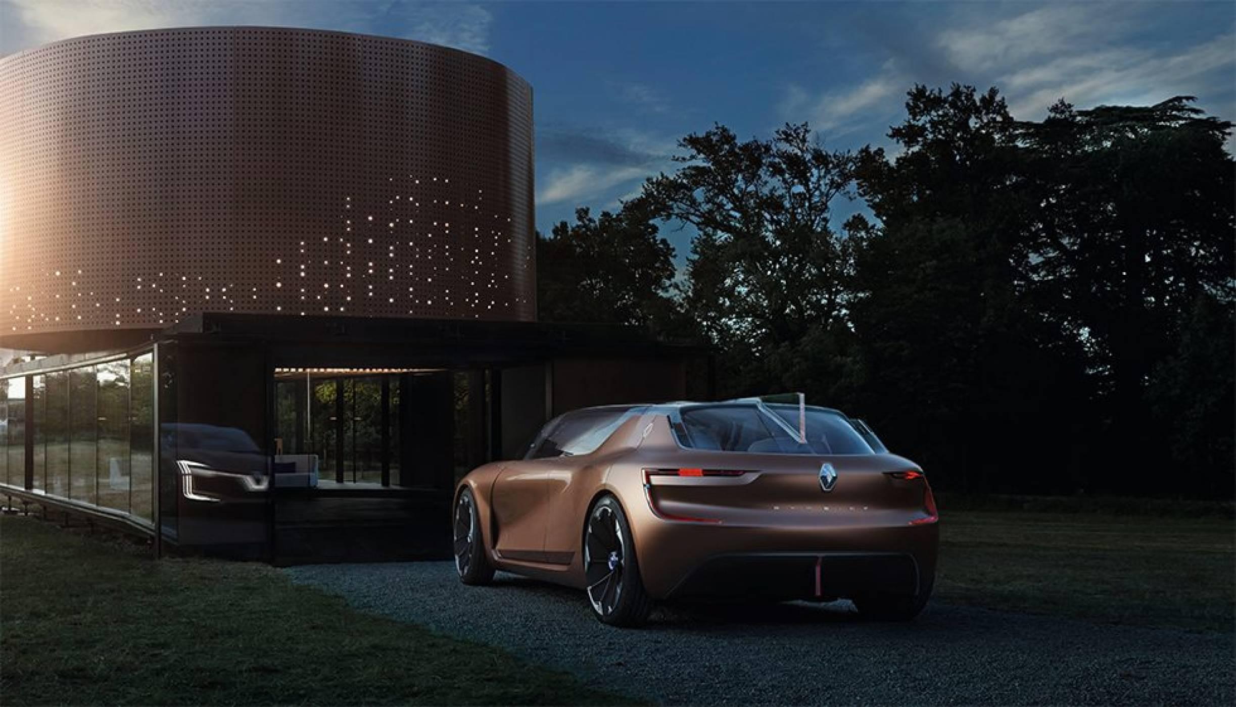 Renault SYMBIOZ е кола и къща, които съществуват в перфектна хармония