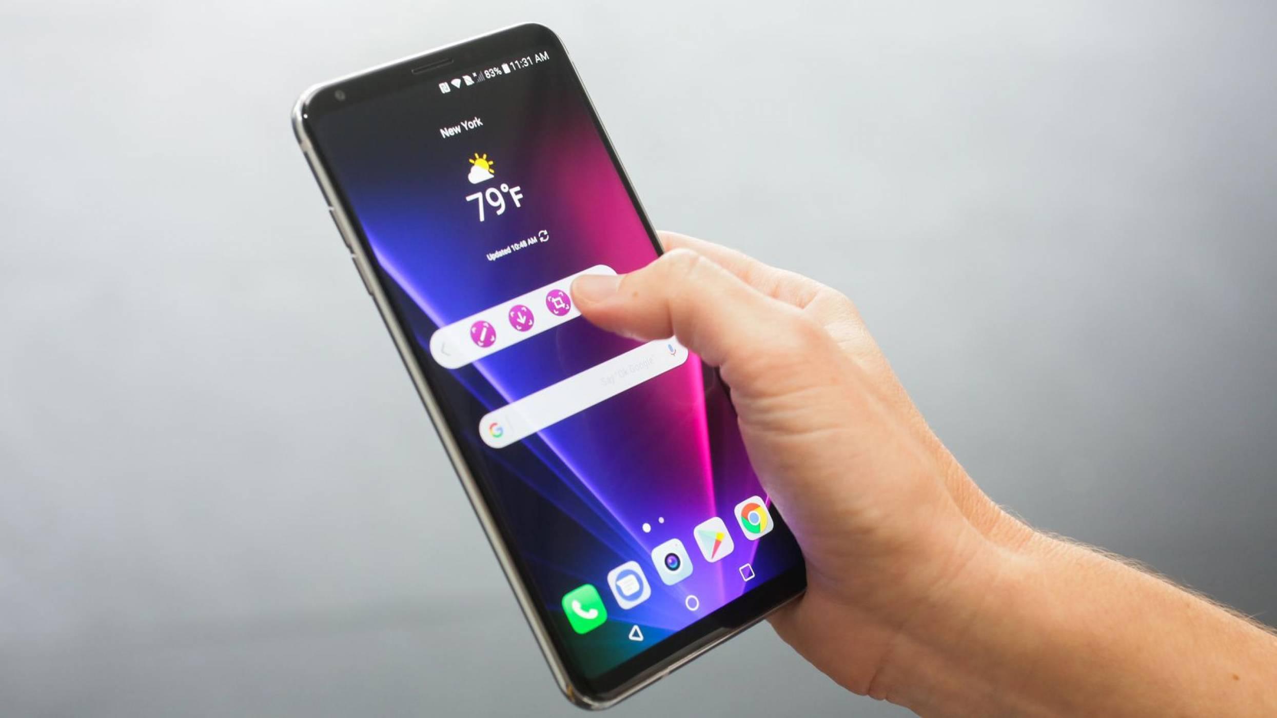 LG започва с доставките на новия си флагман V30